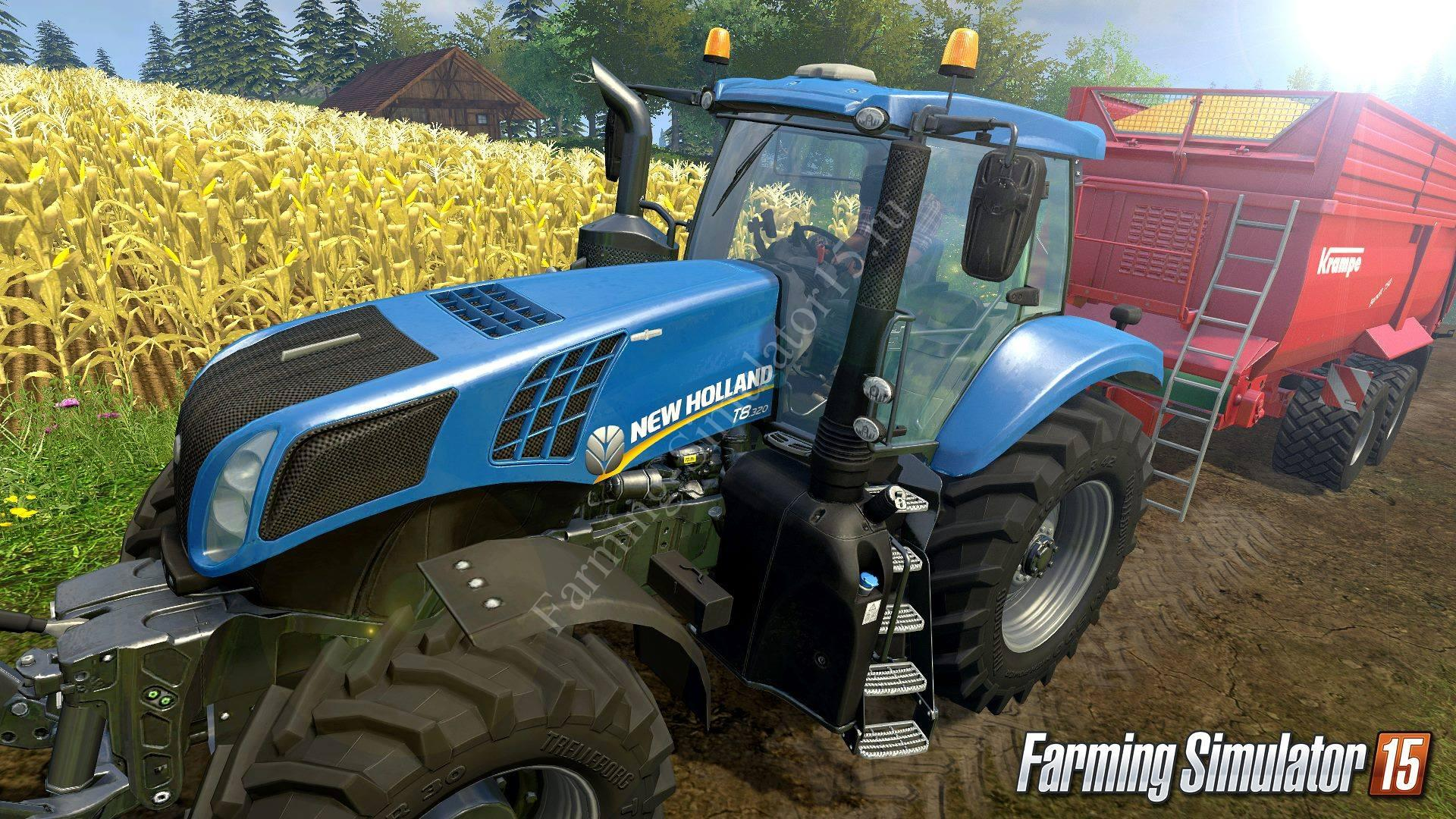 Видео Gameplay Farming Simulator 15