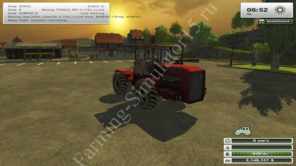 Kirovets K-710 v 1.1 - мод трактора Farming Simulator 13