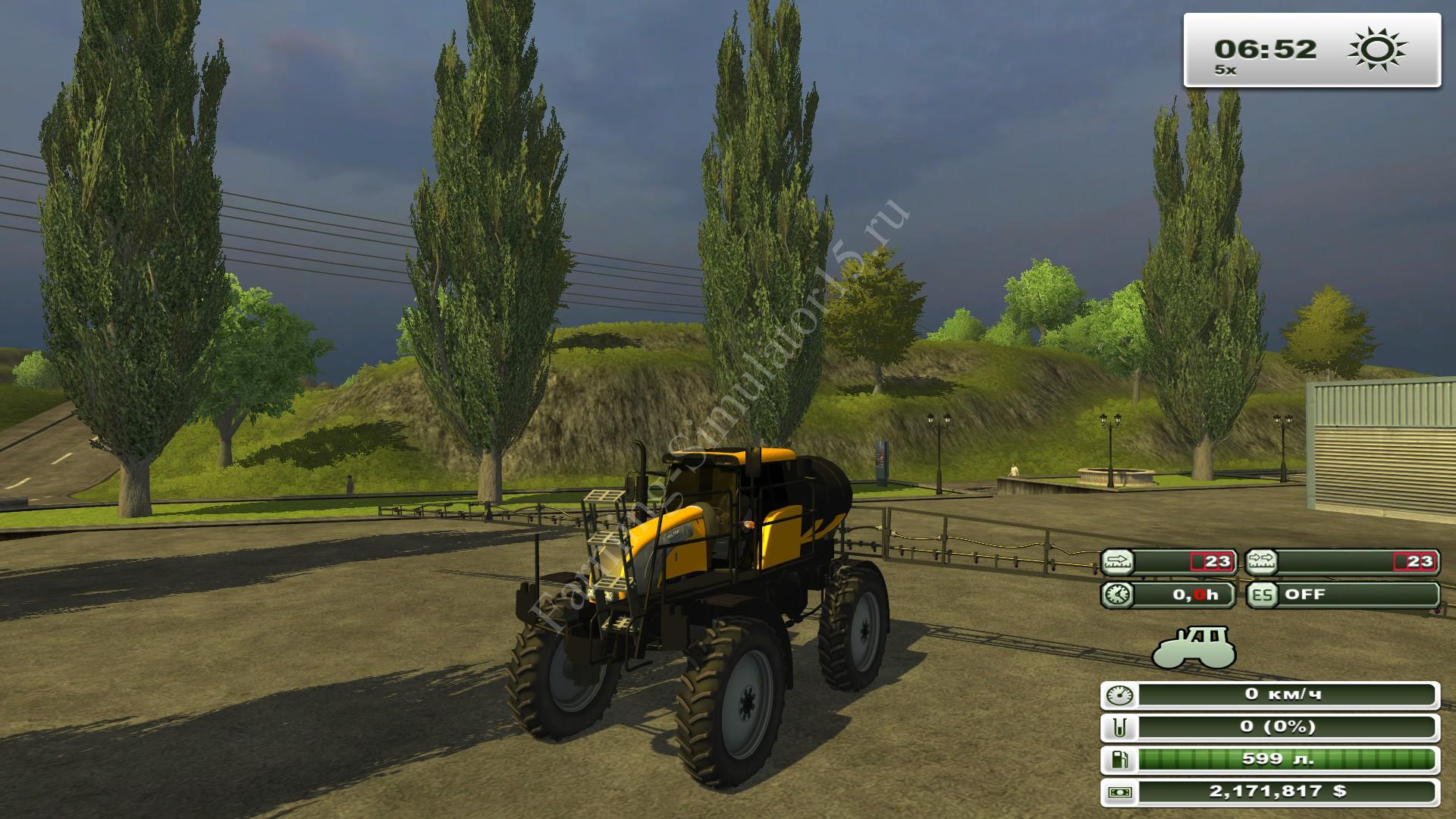 Valtra BS 3020H v 1.0 - мод опрыскиватель Farming Simulator 13