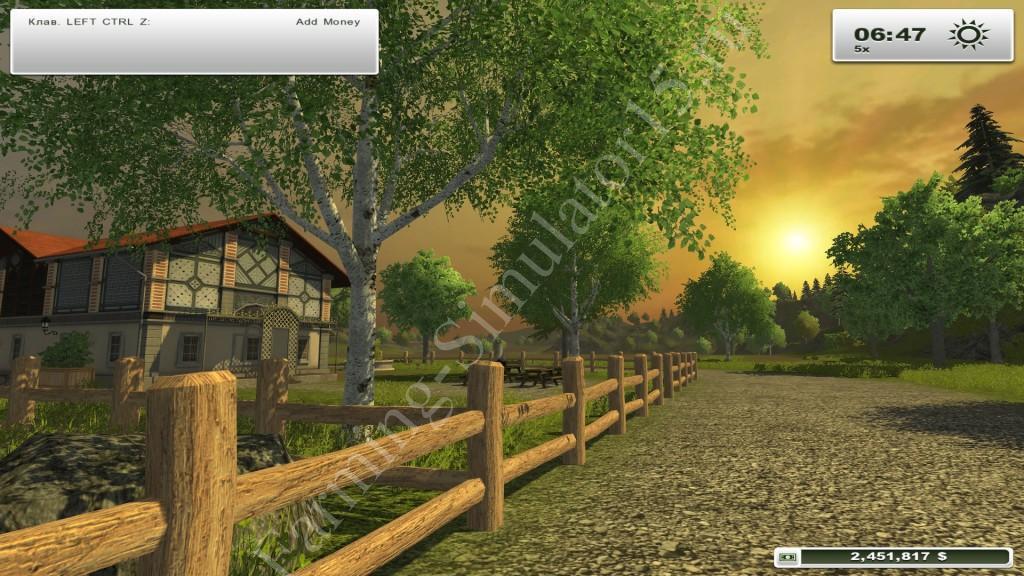 MoneyMod v 1.00 - мод на деньги Farming Simulator 13, Farming Simulator 2013