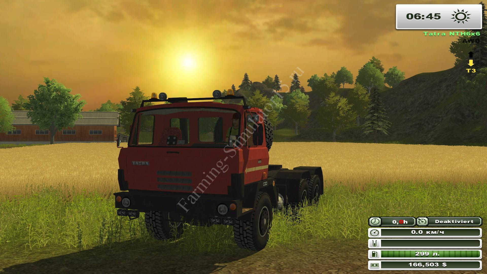 Tatra T815 NTH 6x6 v 1.0 - мод More Realistic грузовика Farming Simulator 2013, Farming Simulator 13