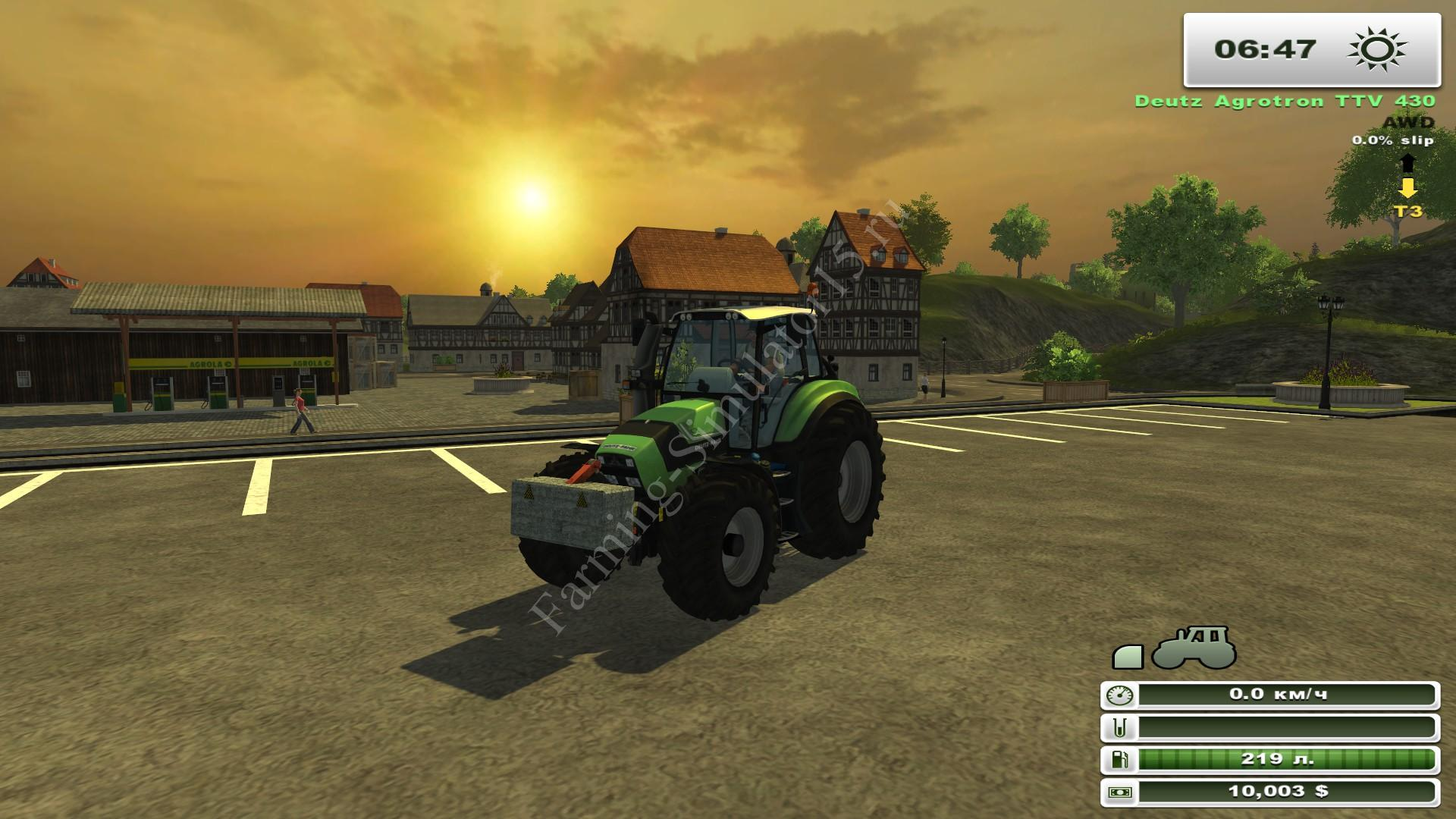 Мод противовеса DIY Weight 500 KG v 1.0 Farming Simulator 2013, Farming Simulator 13