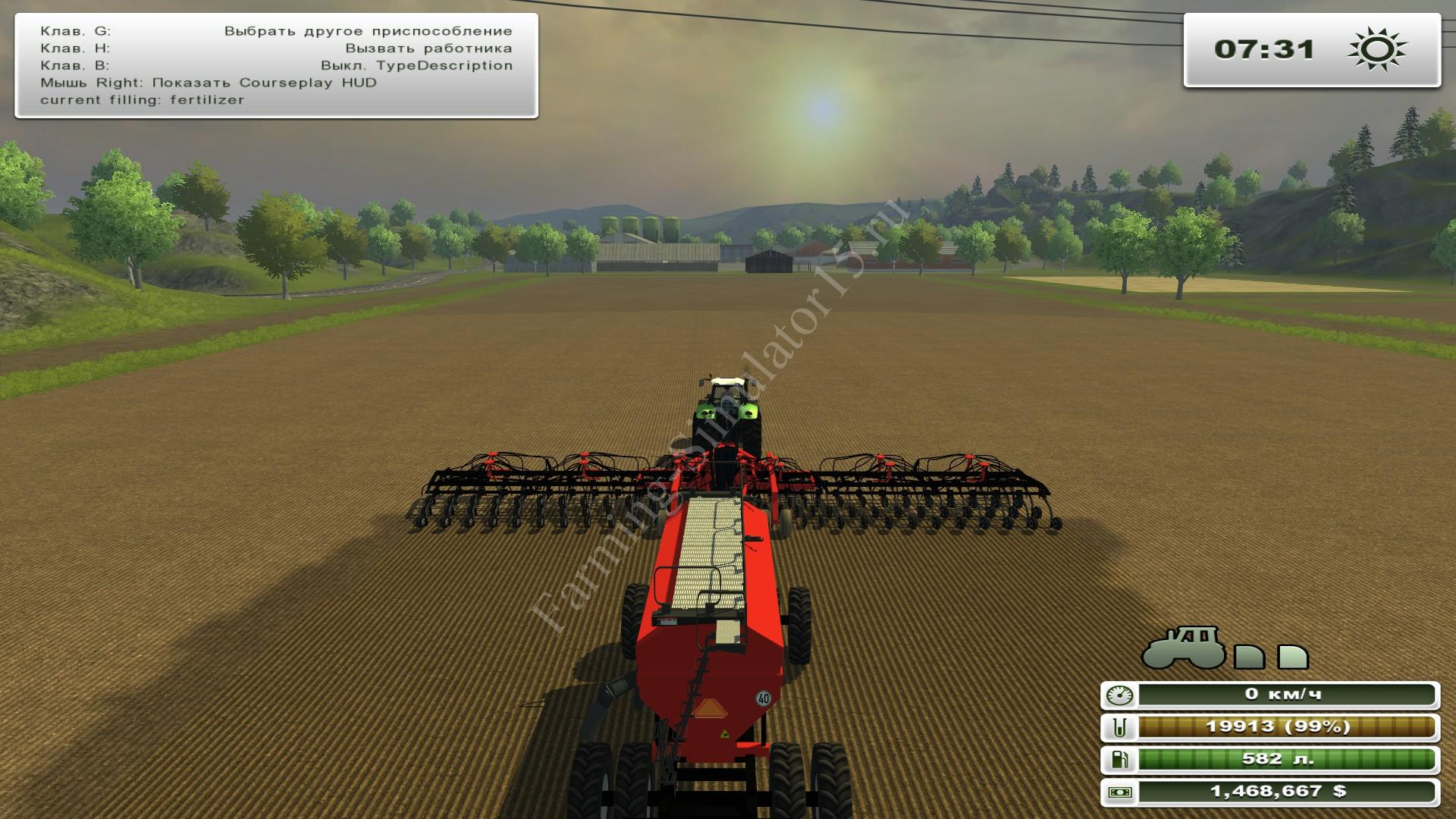 Мод сеялки Case IH Drill And Air Cart Precision Pack v 1.0 Farming Simulator 2013, Farming Simulator 13