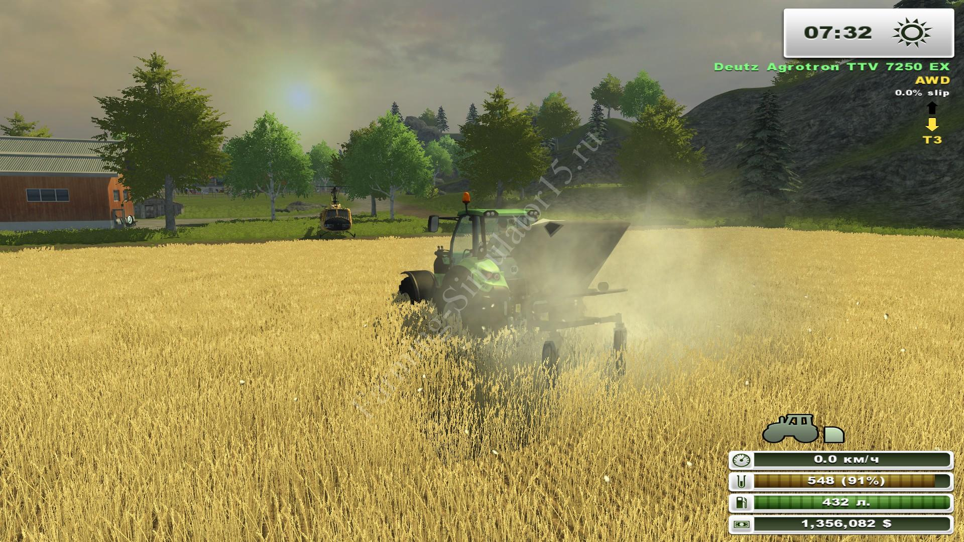 Мод опрыскивателя D028 v 1.0 Farming Simulator 2013, Farming Simulator 13