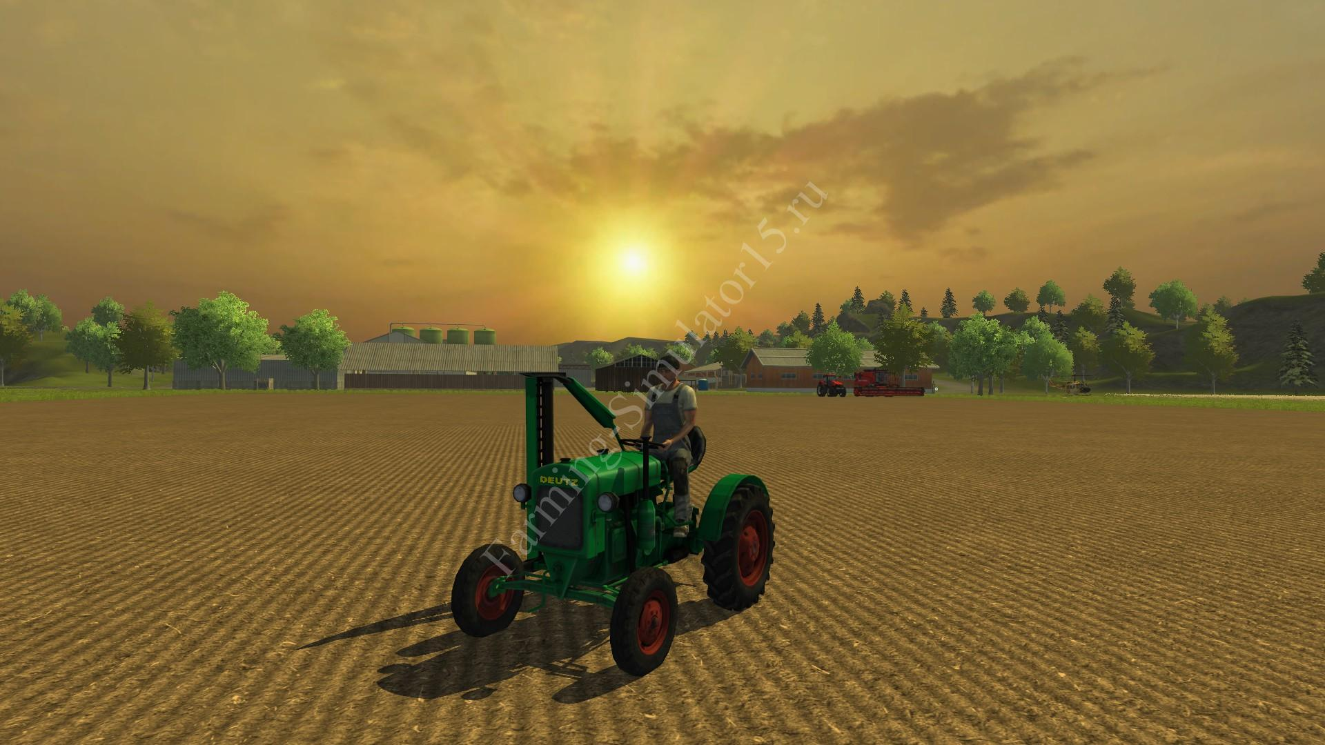 Мод трактора Deutz F 1 M 414 v 3.0 Farming Simulator 2013, Farming Simulator 13