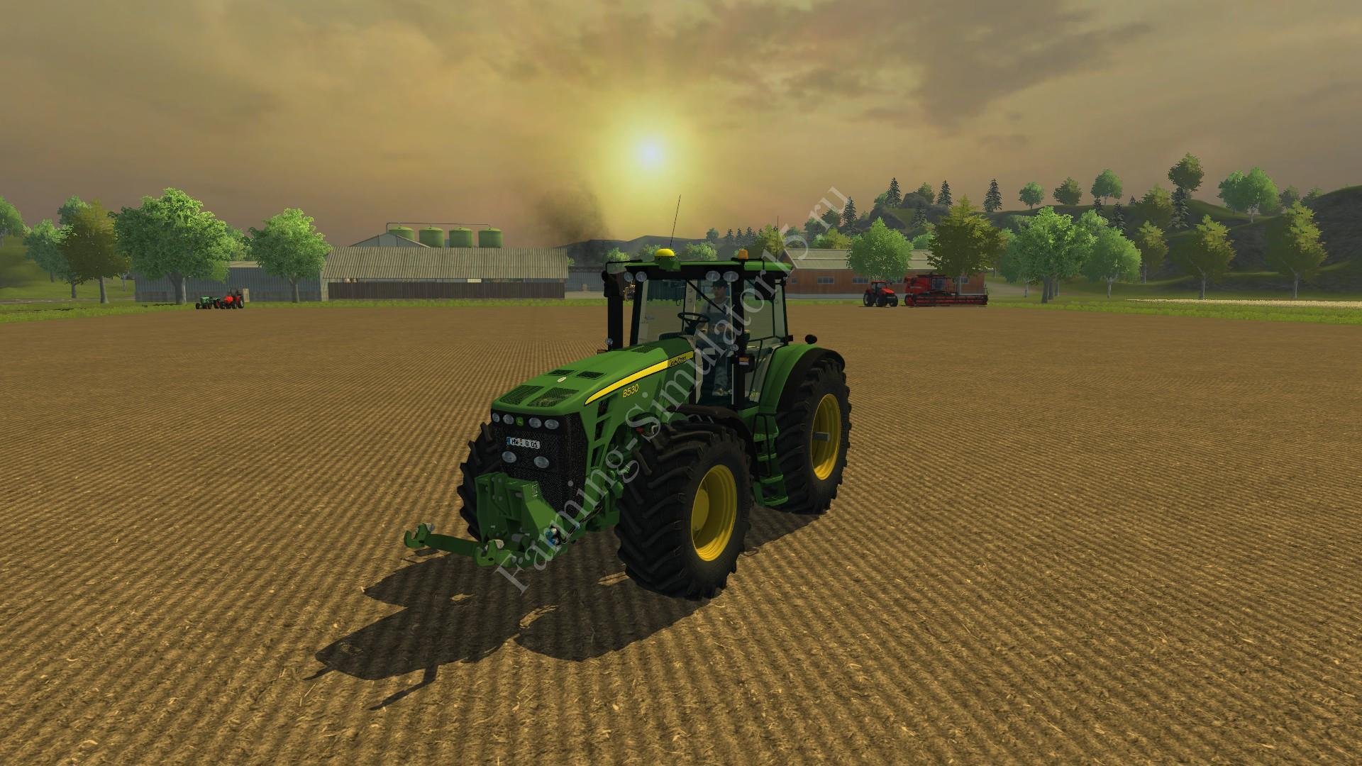 Мод трактора John Deere 8530 Powershift FH v 2.2 Farming Simulator 2013, Farming Simulator 13