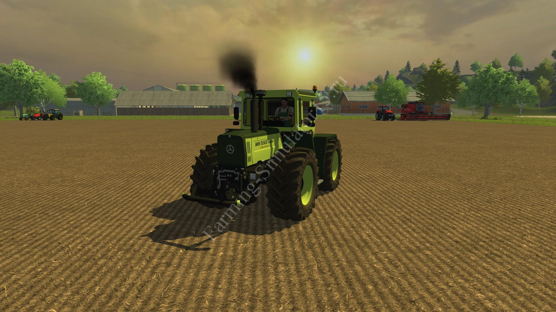 Мод трактора MB Trac 1800 Intercooler v 2.0 Farming Simulator 2013, Farming Simulator 13