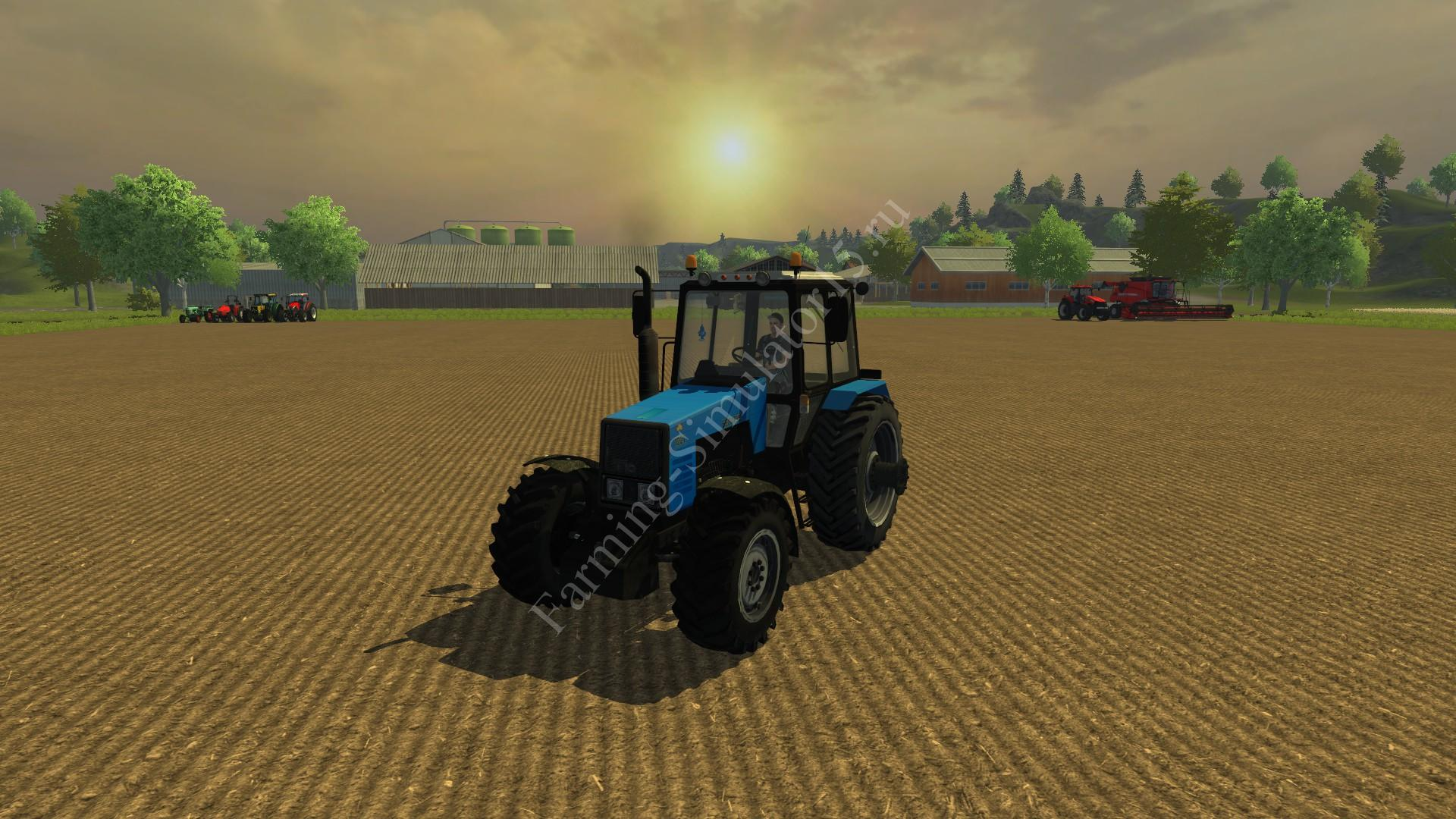 Мод трактора MTZ 1221 v 1.0 Farming Simulator 2013, Farming Simulator 13