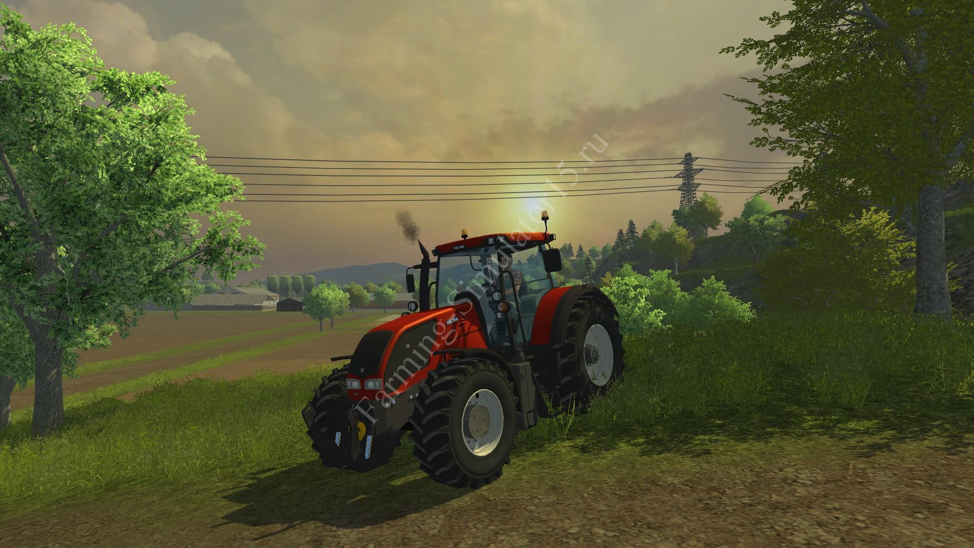 Мод трактора Valtra s 352 v 1.0 Farming Simulator 2013, Farming Simulator 13