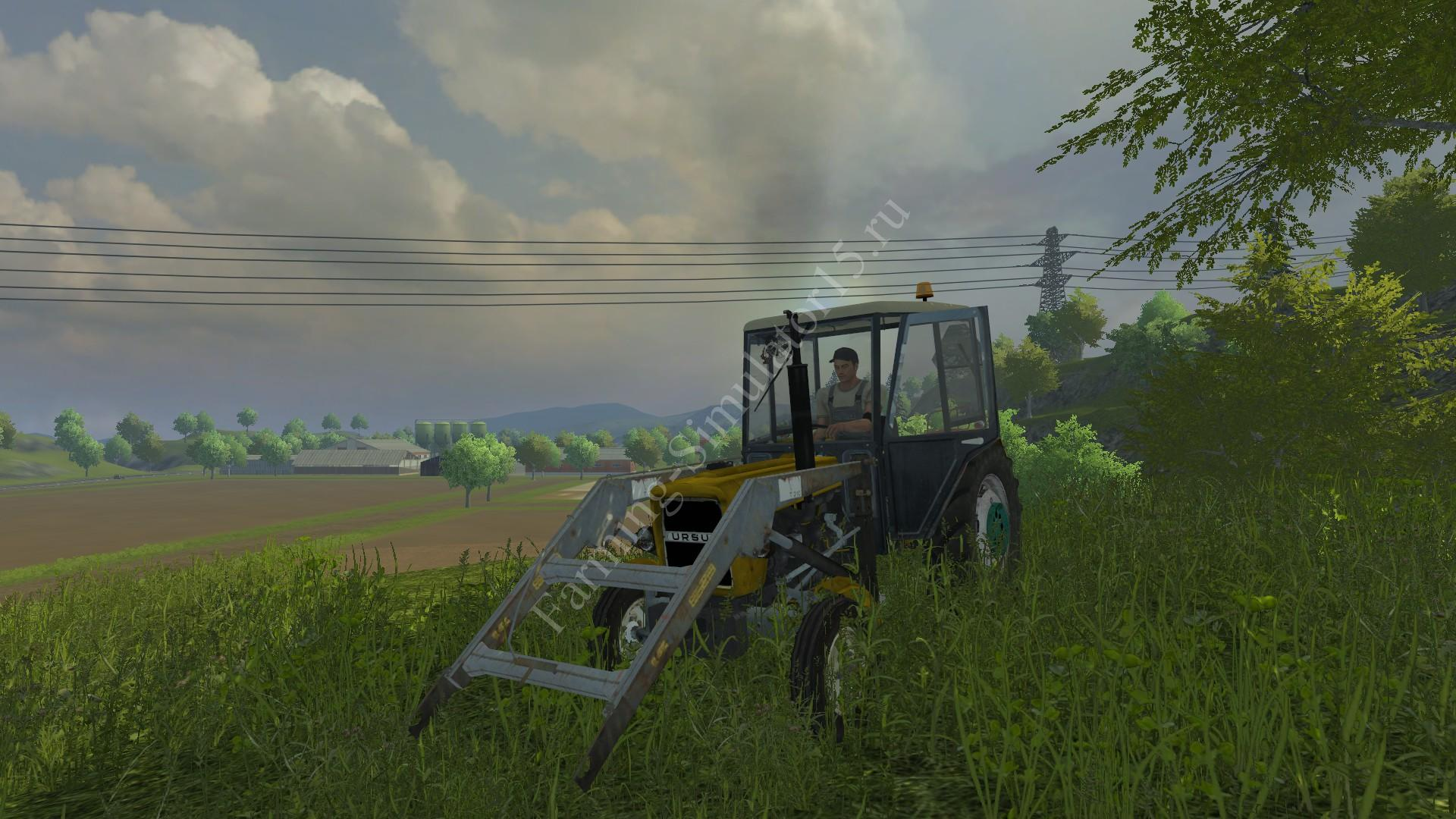 Мод трактора Ursus C330 FL v 2.1 Farming Simulator 2013, Farming Simulator 13