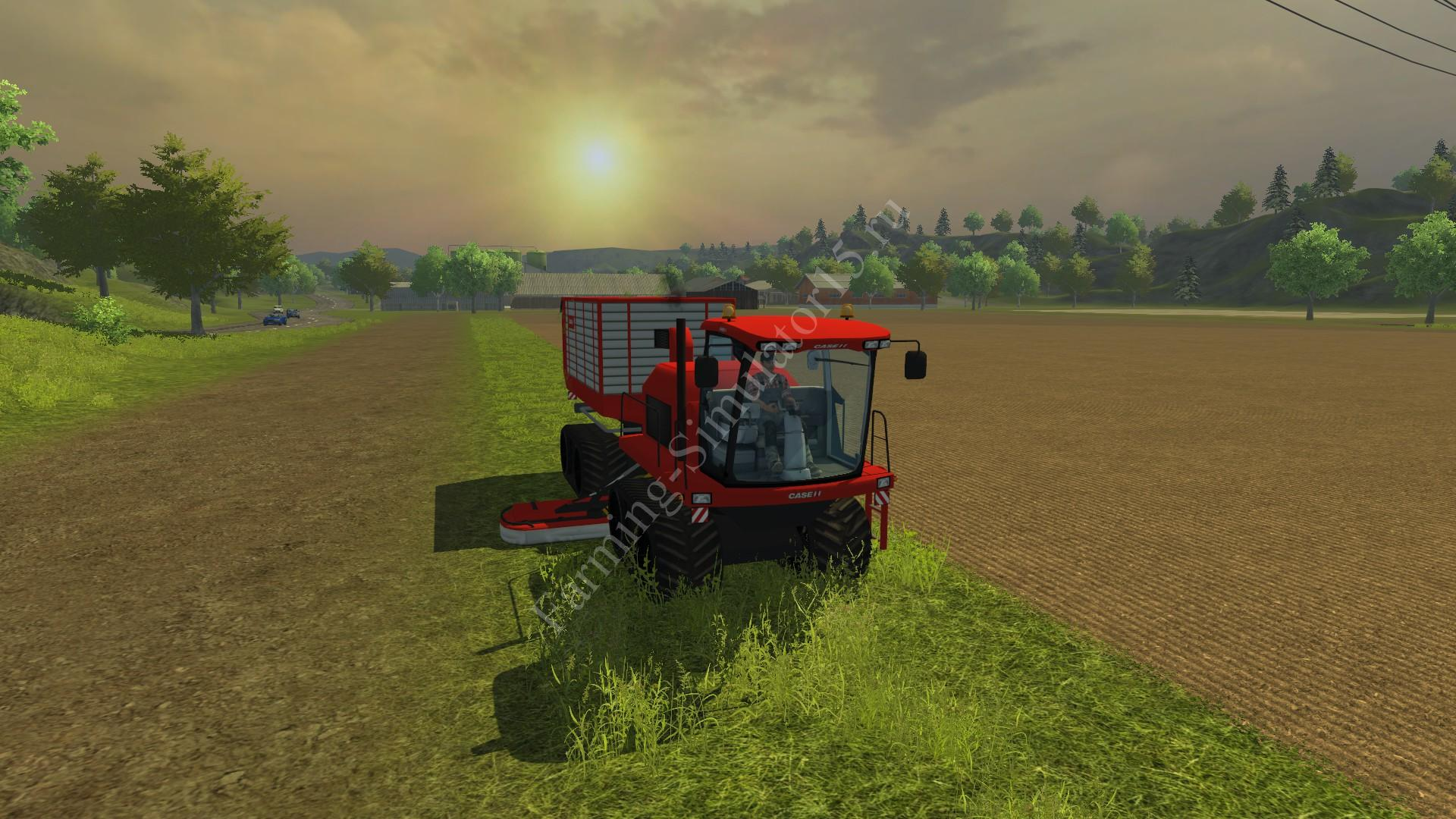 Мод комбайна Case IH Mower TT 8100 v 1.0 Farming Simulator 2013, Farming Simulator 13