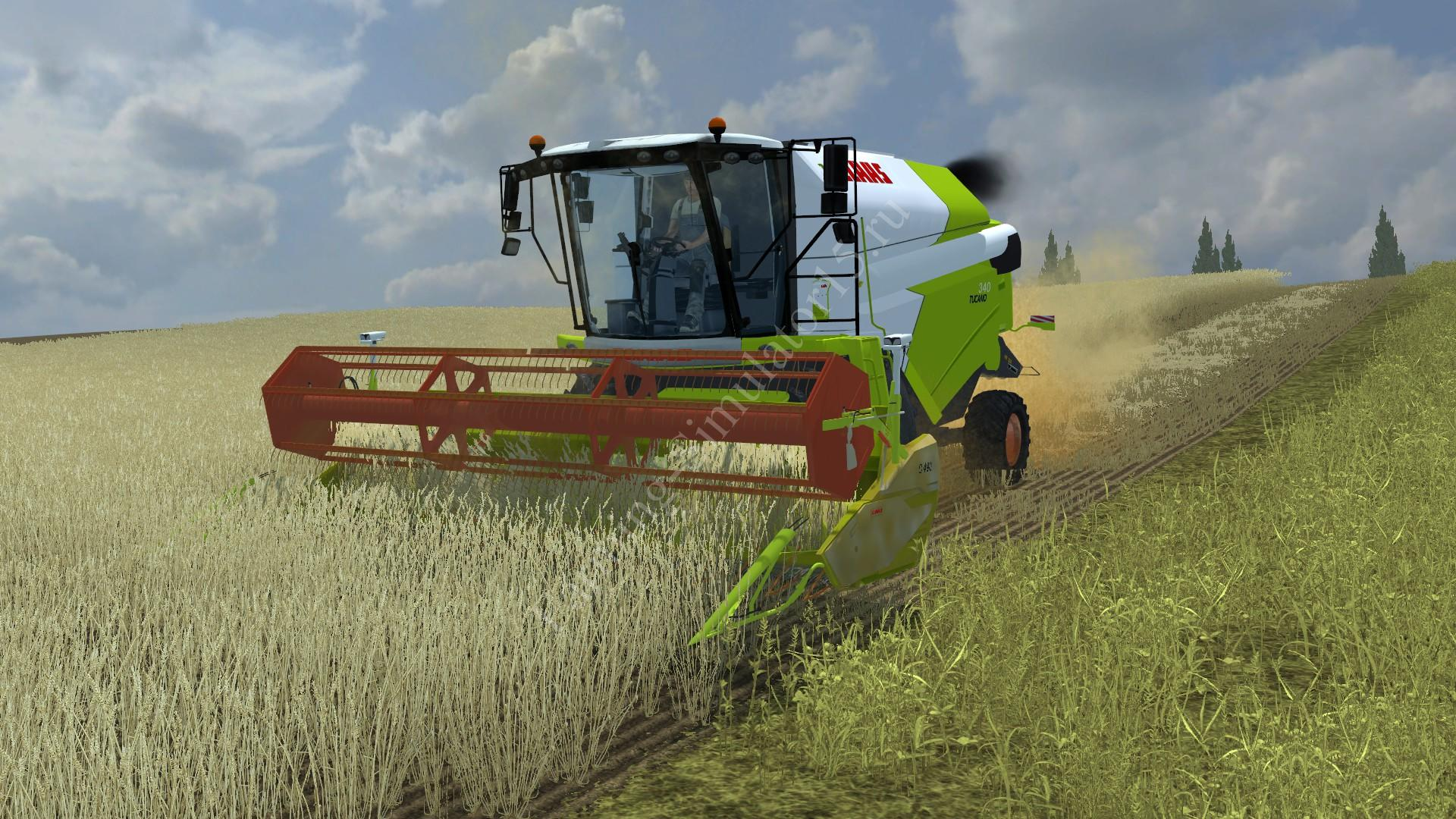 Моды комбайны Claas Tucano 340 v 1.0 Farming Simulator 2013, Farming Simulator 13