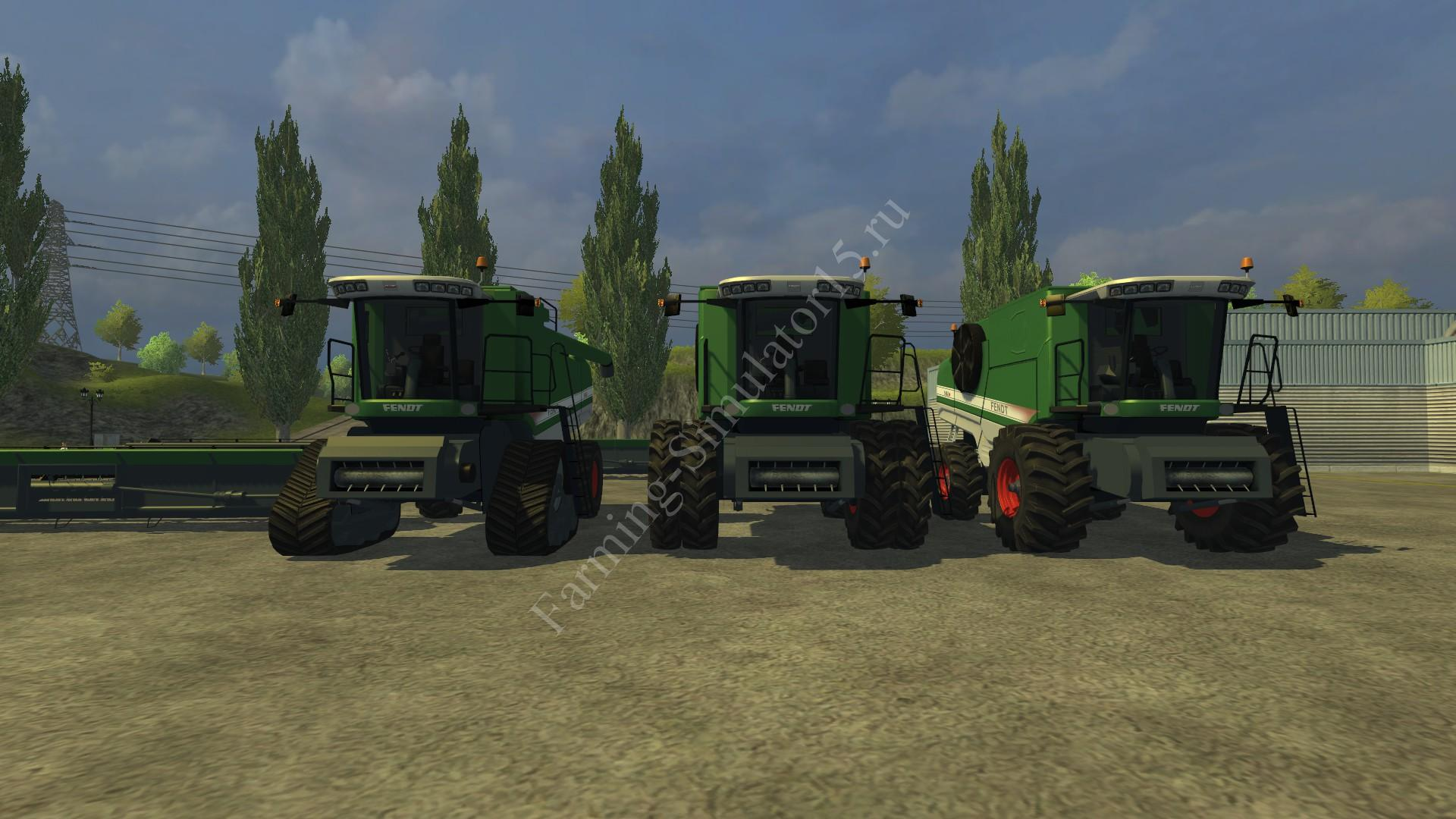 Мод комбайна Fendt 9460 R Pack v 6.3 Farming Simulator 2013, Farming Simulator 13