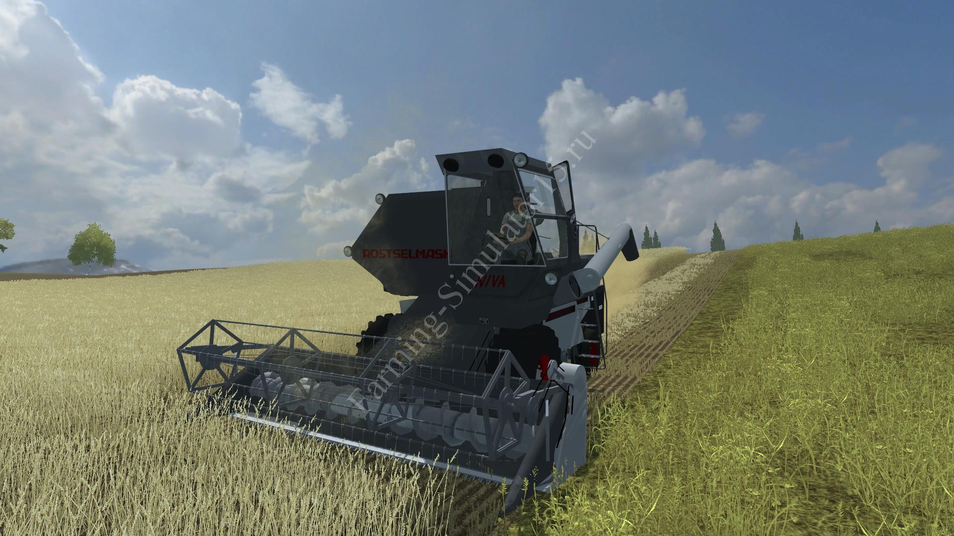 Мод комбайна Niva SK5 v 1.0 Farming Simulator 2013, Farming Simulator 13