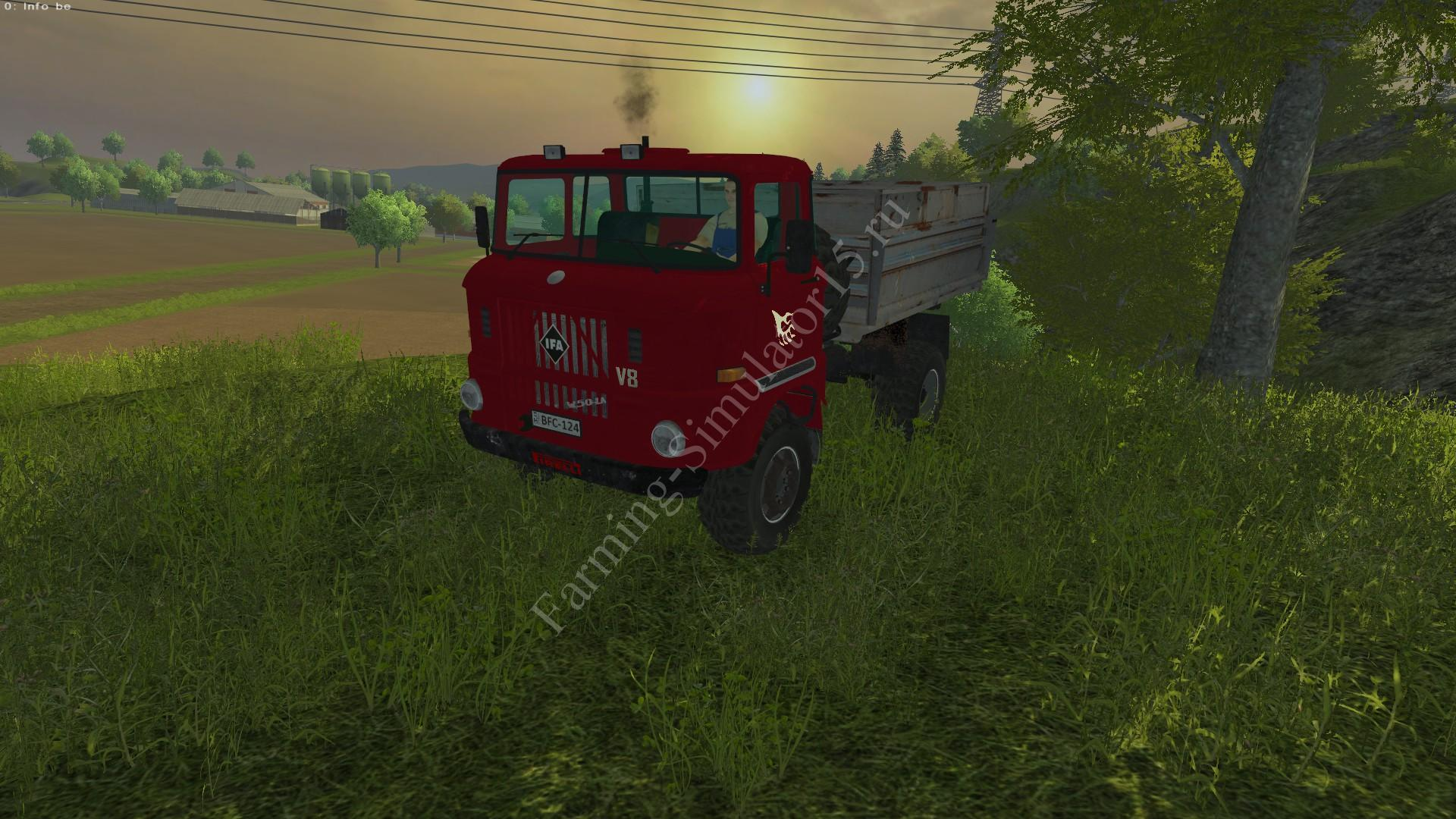 Мод грузовика IFA W50 LA V8 v 2.0 Farming Simulator 2013, Farming Simulator 13