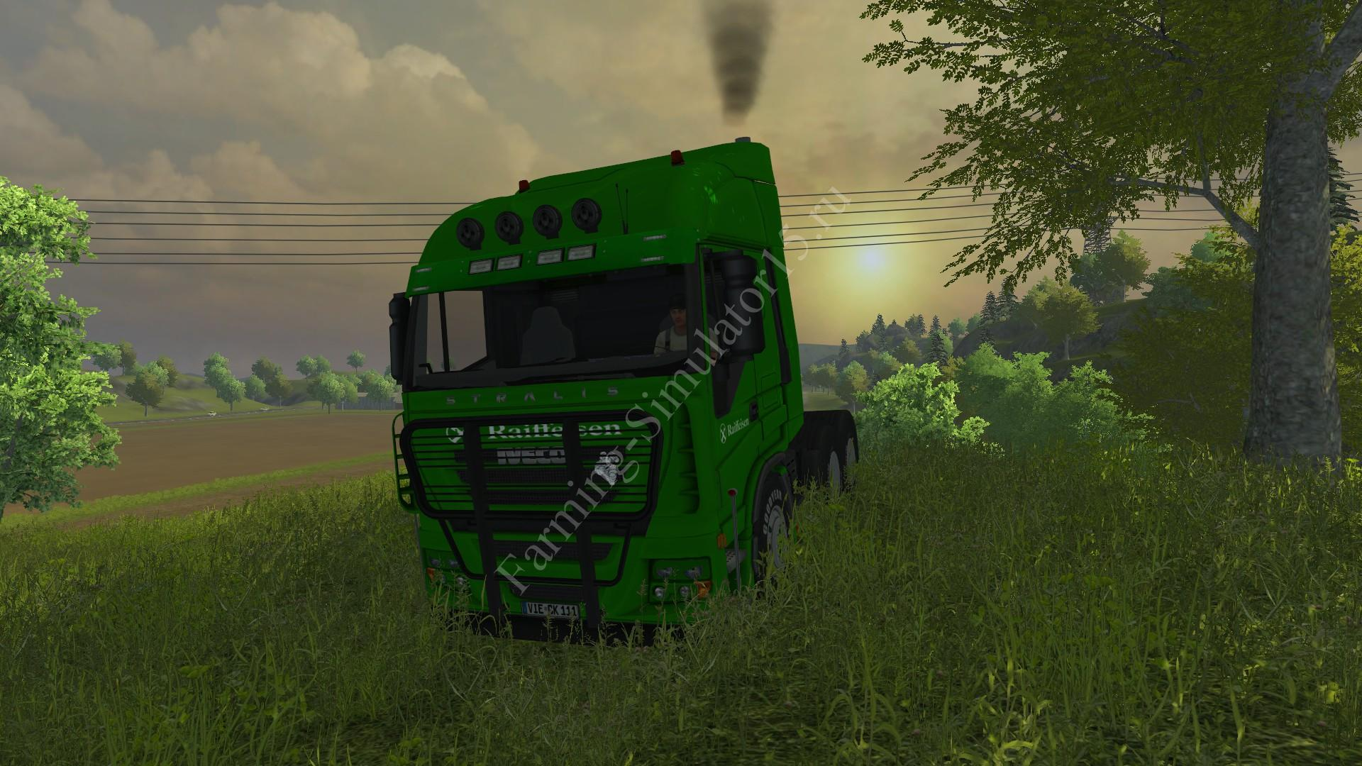 Мод грузовика Iveco Stralis AS 600 Raiffeisen v 1.0 Farming Simulator 13, Farming Simulator 2013