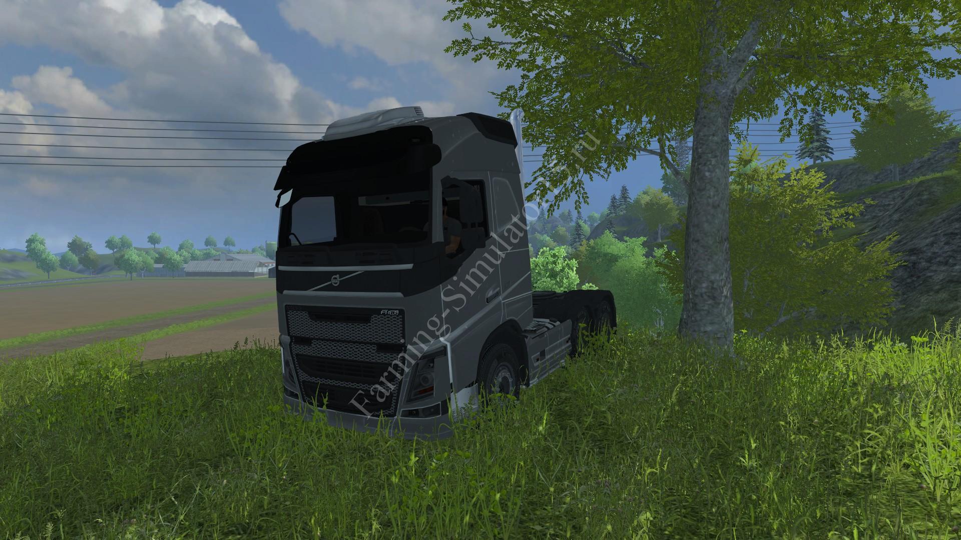 Мод грузовика Volvo FH16 2012 FW v 1.0 Farming Simulator 2013, Farming Simulator 13