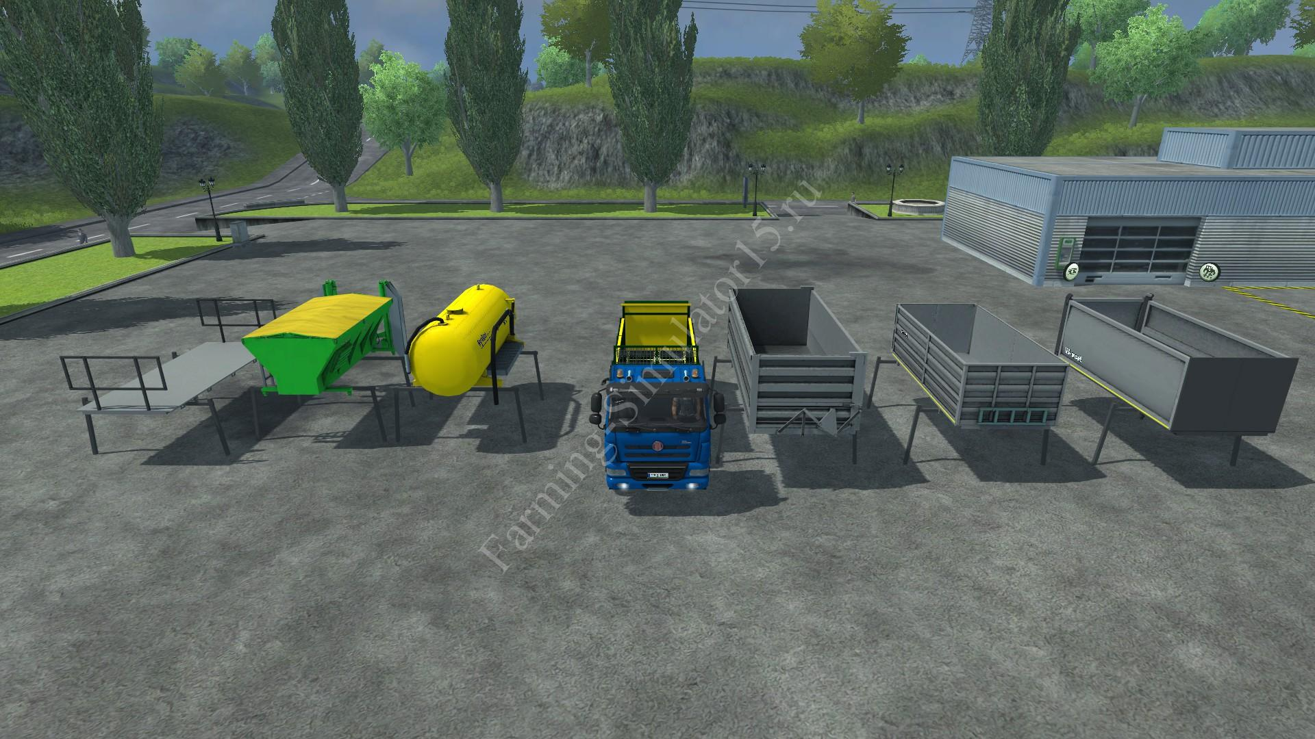 Мод грузовика TATRA 158 6x6 Phoenix Agro v 1.1 Farming Simulator 2013, Farming Simulator 13