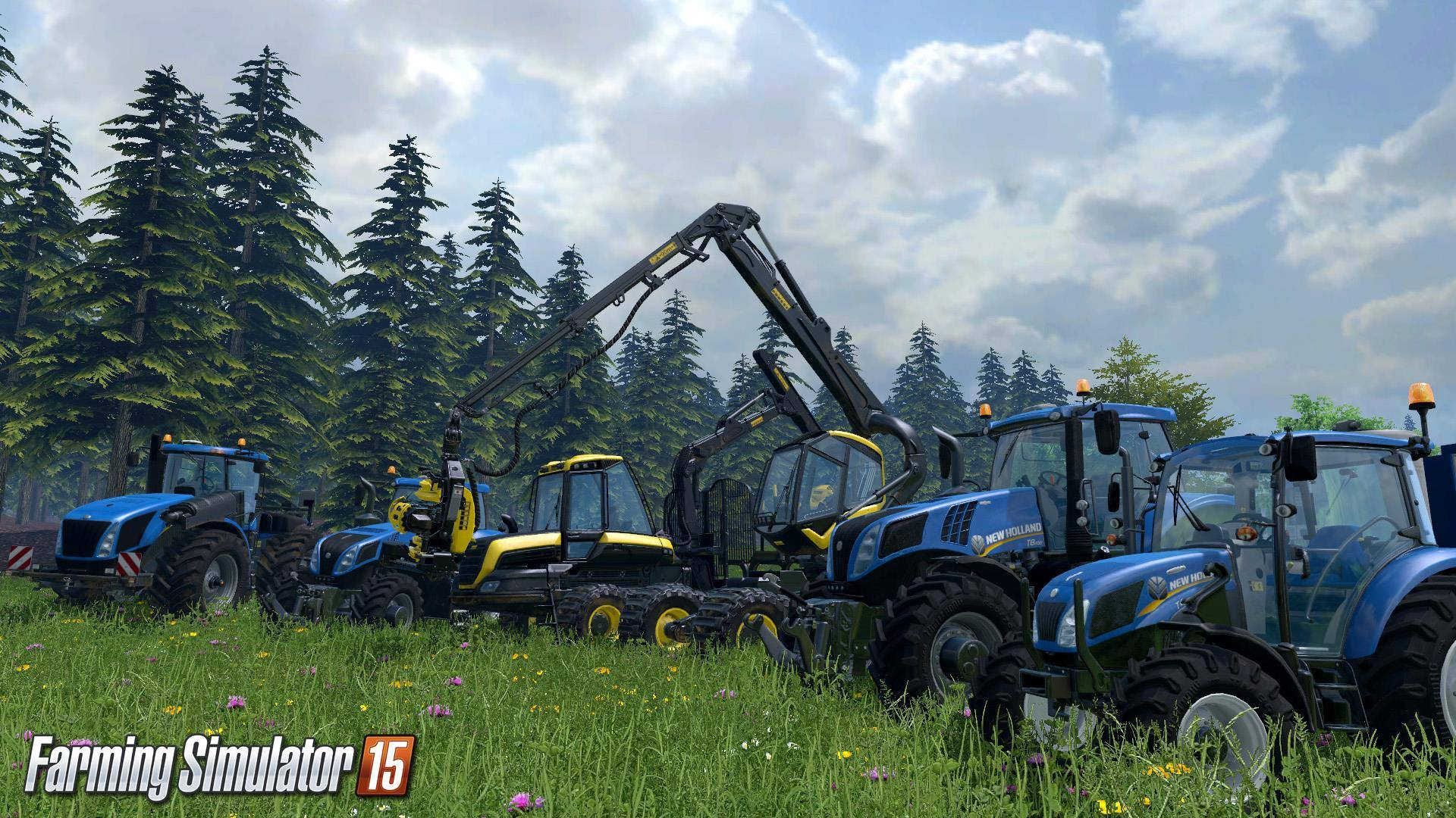Свежее видео c Gamescom из игры Farming Simulator 15