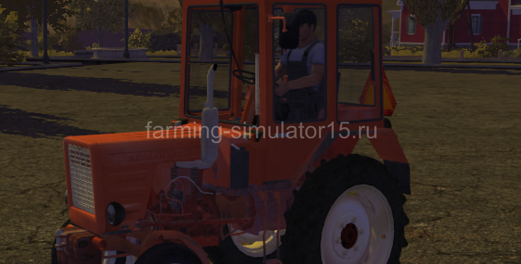 Ford 7000 - мод трактора Farming Simulator 13