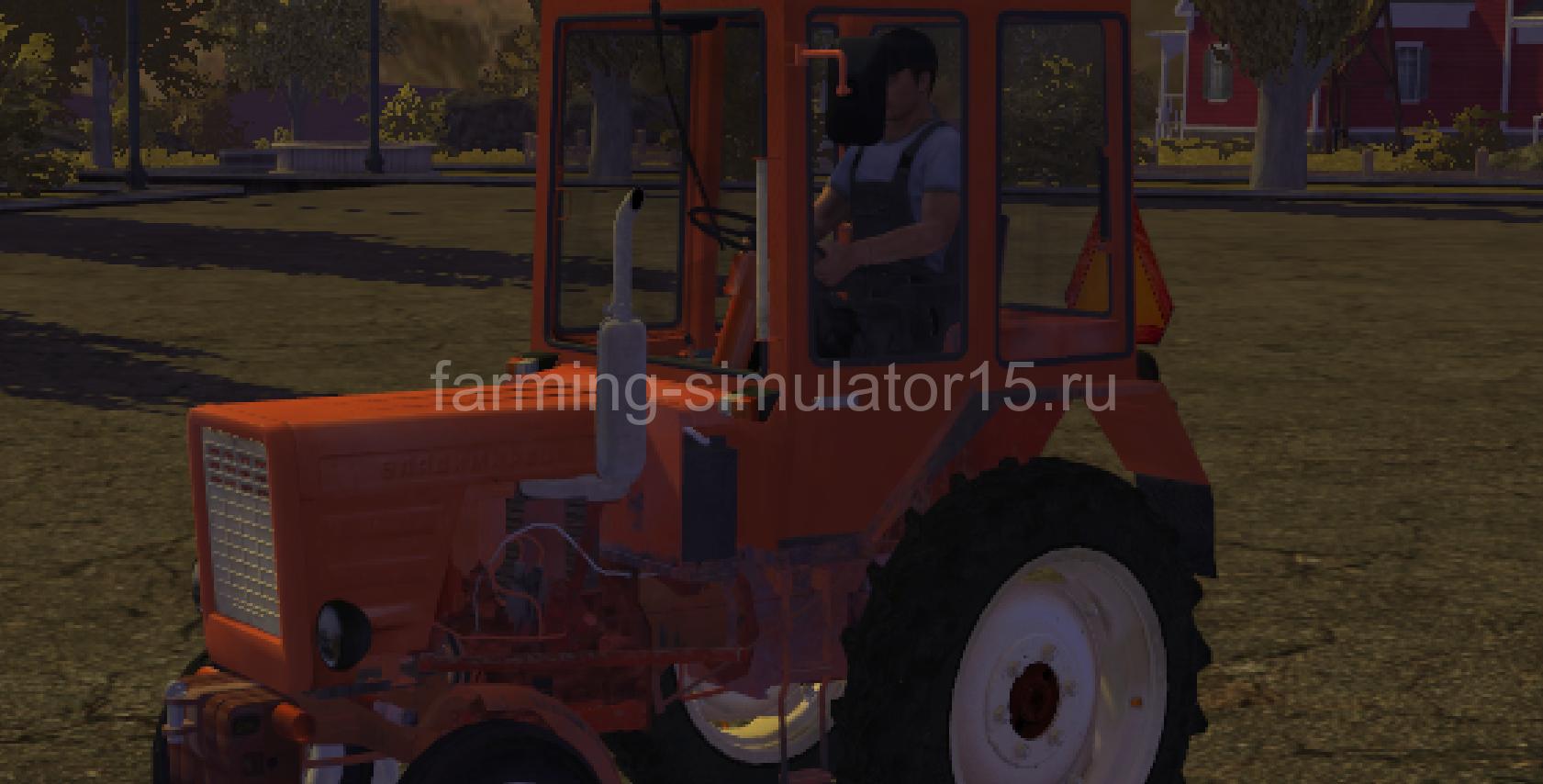 Ford 7000 - мод трактора Farming Simulator 13