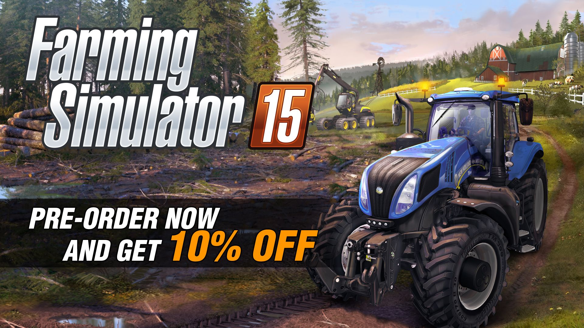 Купить Farming Simulator 15