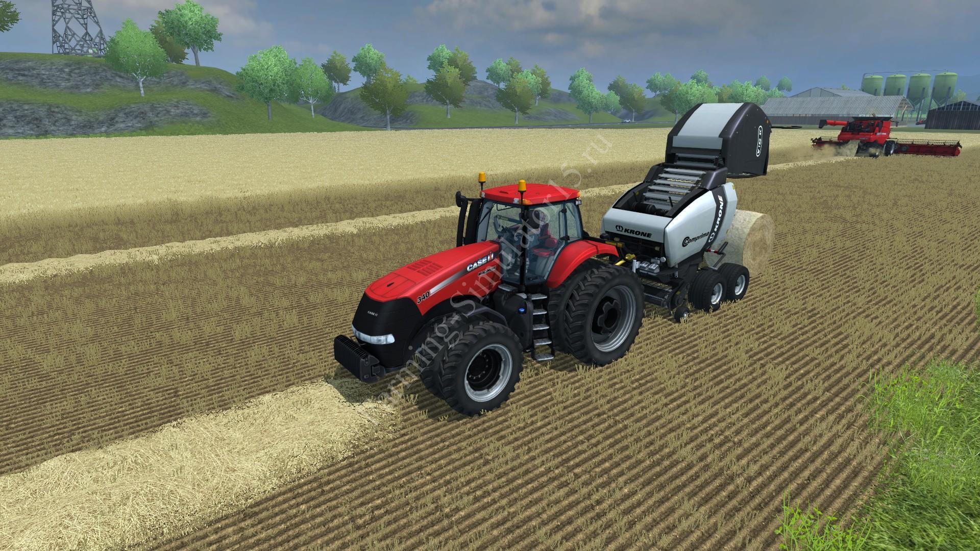 Мод тюкопресса Krone Comprima v180 Spezial v 1.0 Farming Simulator 2013, Farming Simulator 13