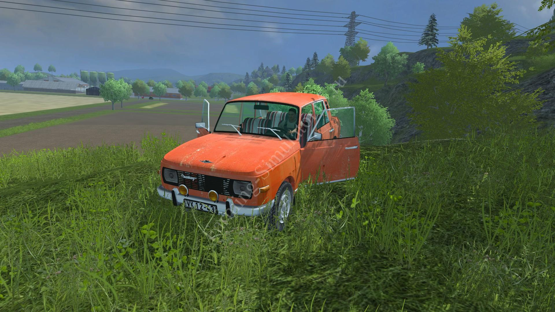 Мод легкового авто Wartburg 353 v 2.13 Farming Simulator 2013, Farming Simulator 13