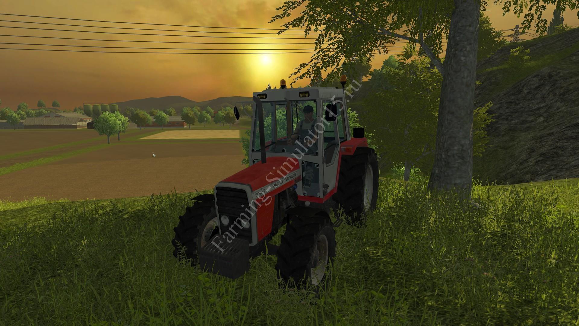 Мод трактора Massey Ferguson 698T v 1.3 More Realistic Farming Simulator 2013, Farming Simulator 13