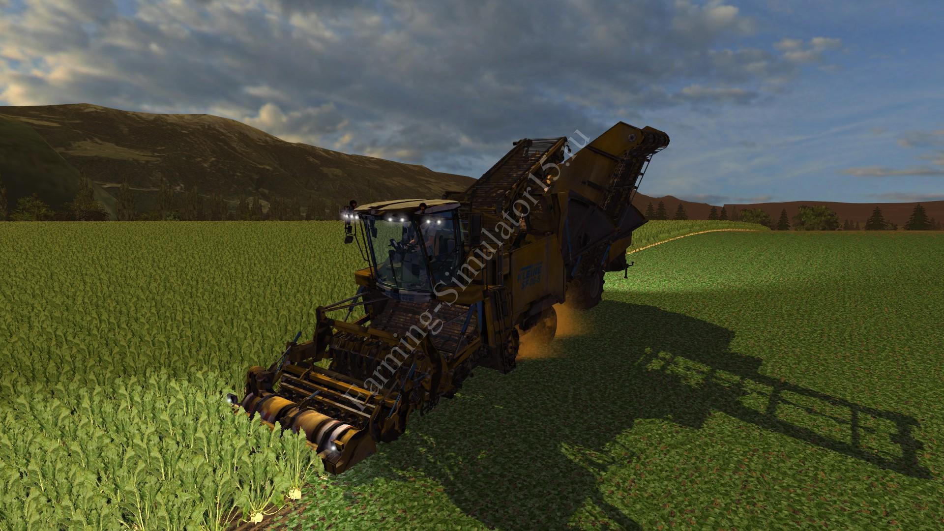 Мод комбайна Kleine SF 06-5 v 1.0 More Realistic Farming Simulator 2013, Farming Simulator 13
