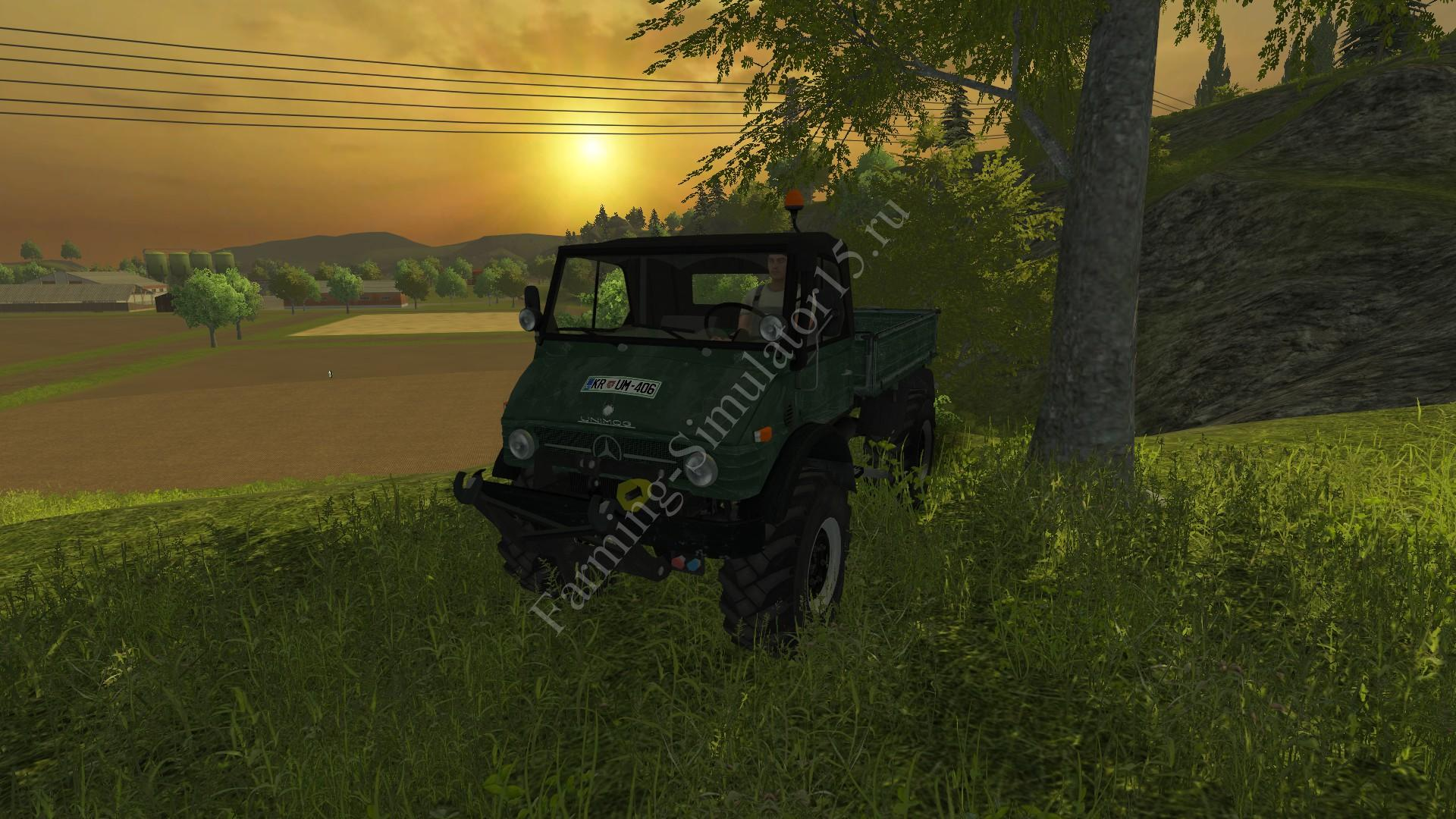 Мод грузовика Unimog U 84 406 series construction v 2.1.2 Forst More Realistic Farming Simulator 2013, Farming Simulator 13
