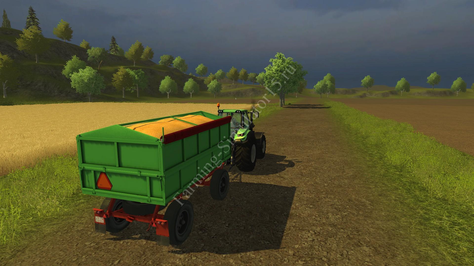 Мод прицепа IFA HK 5-1 v 1.0 More Realistic Farming Simulator 2013, Farming Simulator 13