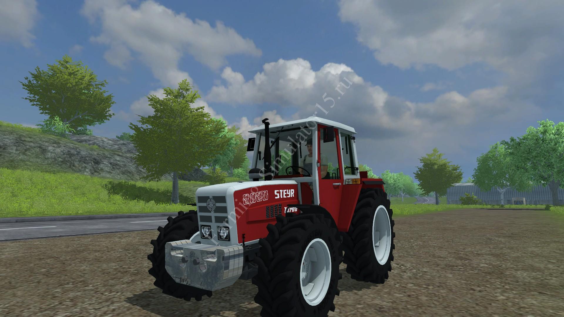 Мод противовеса Steyr weight v 1.0 Farming Simulator 2013, Farming Simulator 13