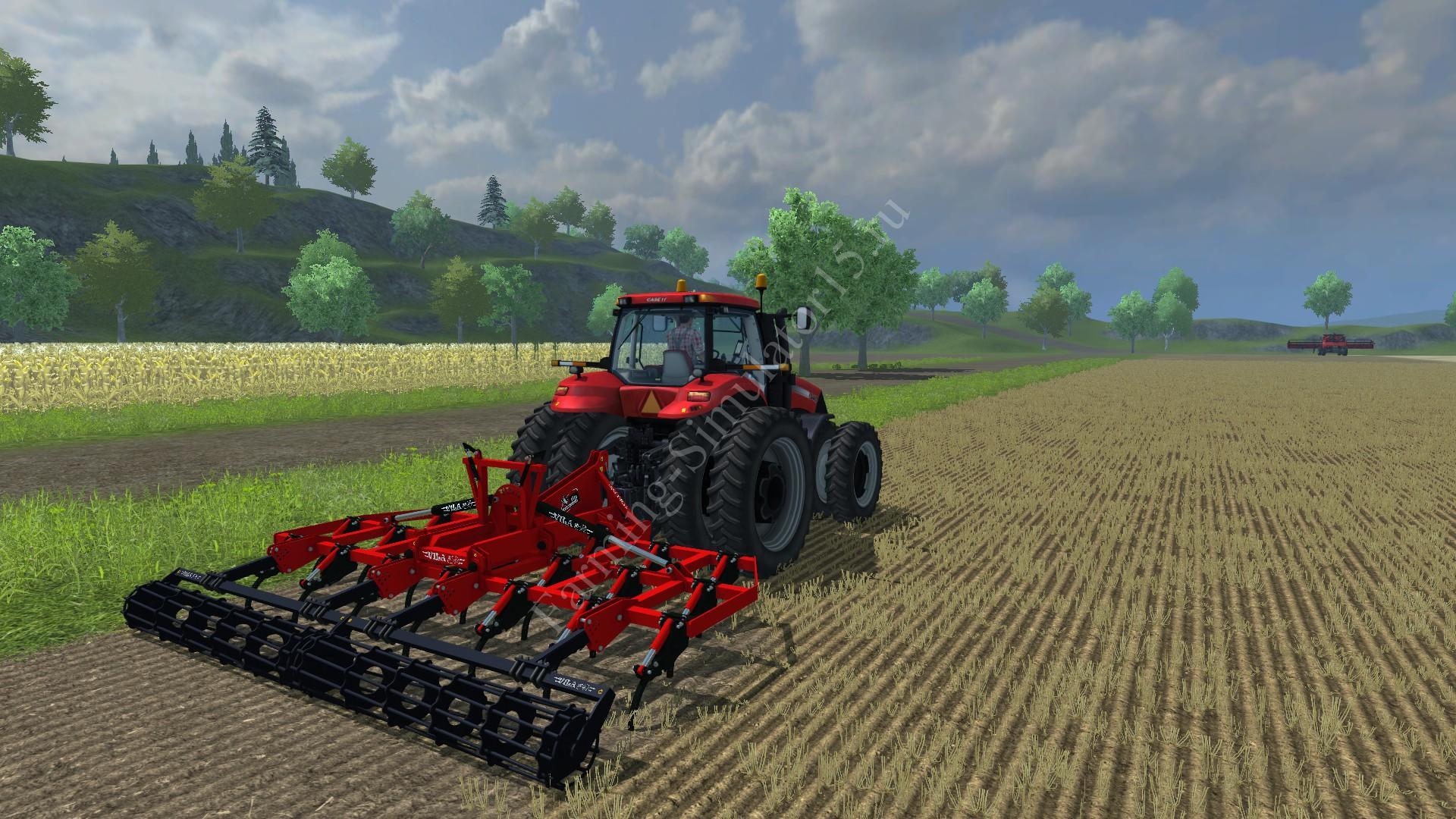 Мод культиватора Vila Chisel SXHV 20 v 1.5 Farming Simulator 2013, Farming Simulator 13