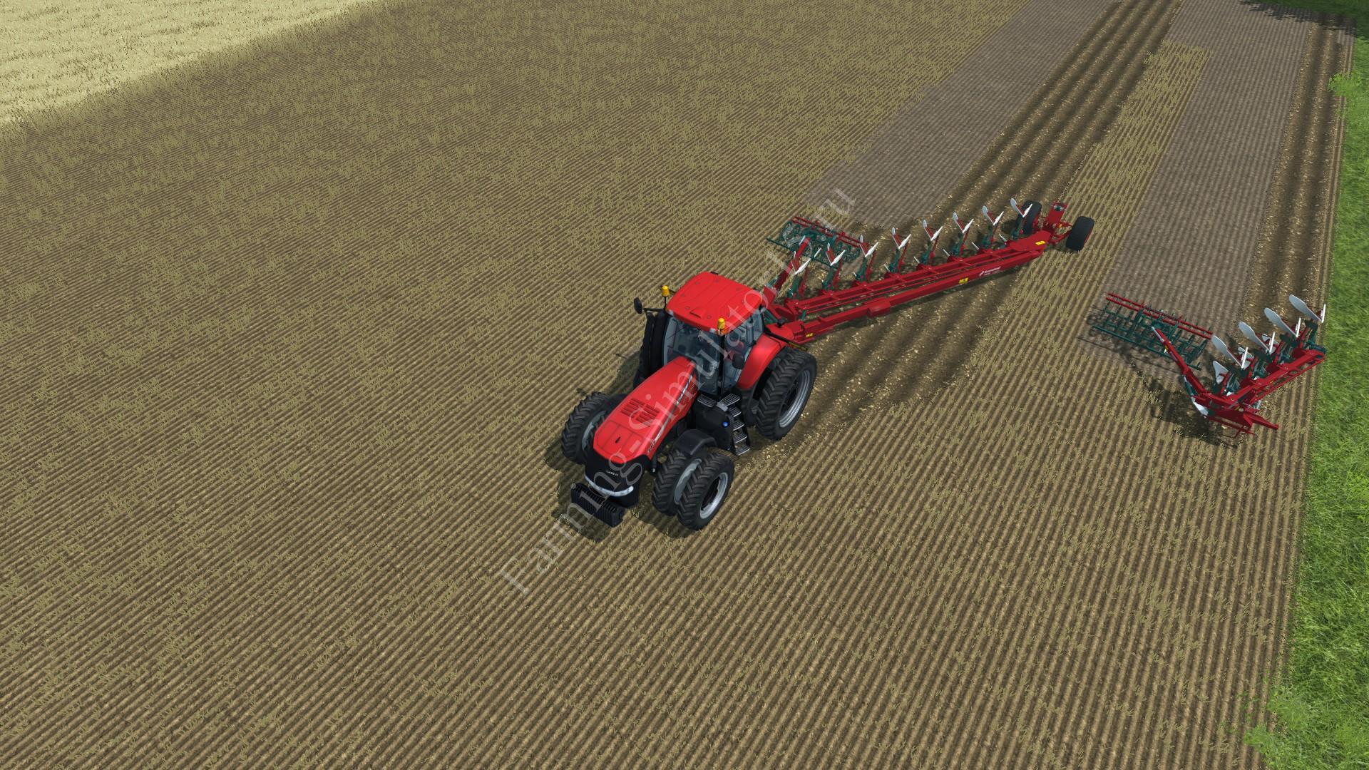 Мод плуга KVERNELAND PLOW PACK PW RW PACKOMAT V5.99 BETA Farming Simulator 2013, Farming Simulator 13