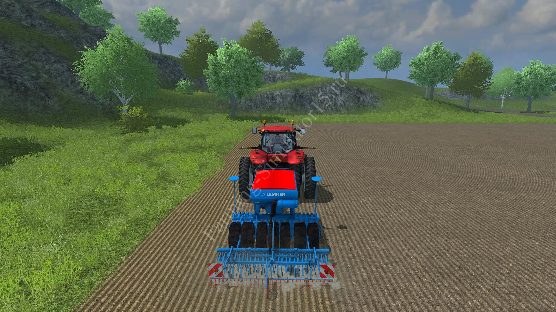 Мод сеялки Lemken COMPACT Soitair 9H v 1.0 Farming Simulator 2013, Farming Simulator 13