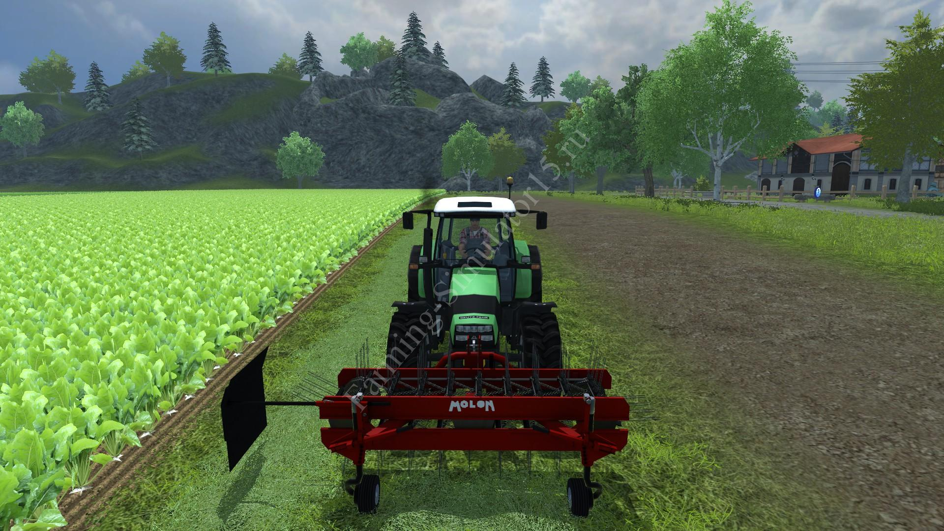 Мод ворошилки Molon 260 5D v 1.1 Farming Simulator 2013, Farming Simulator 13