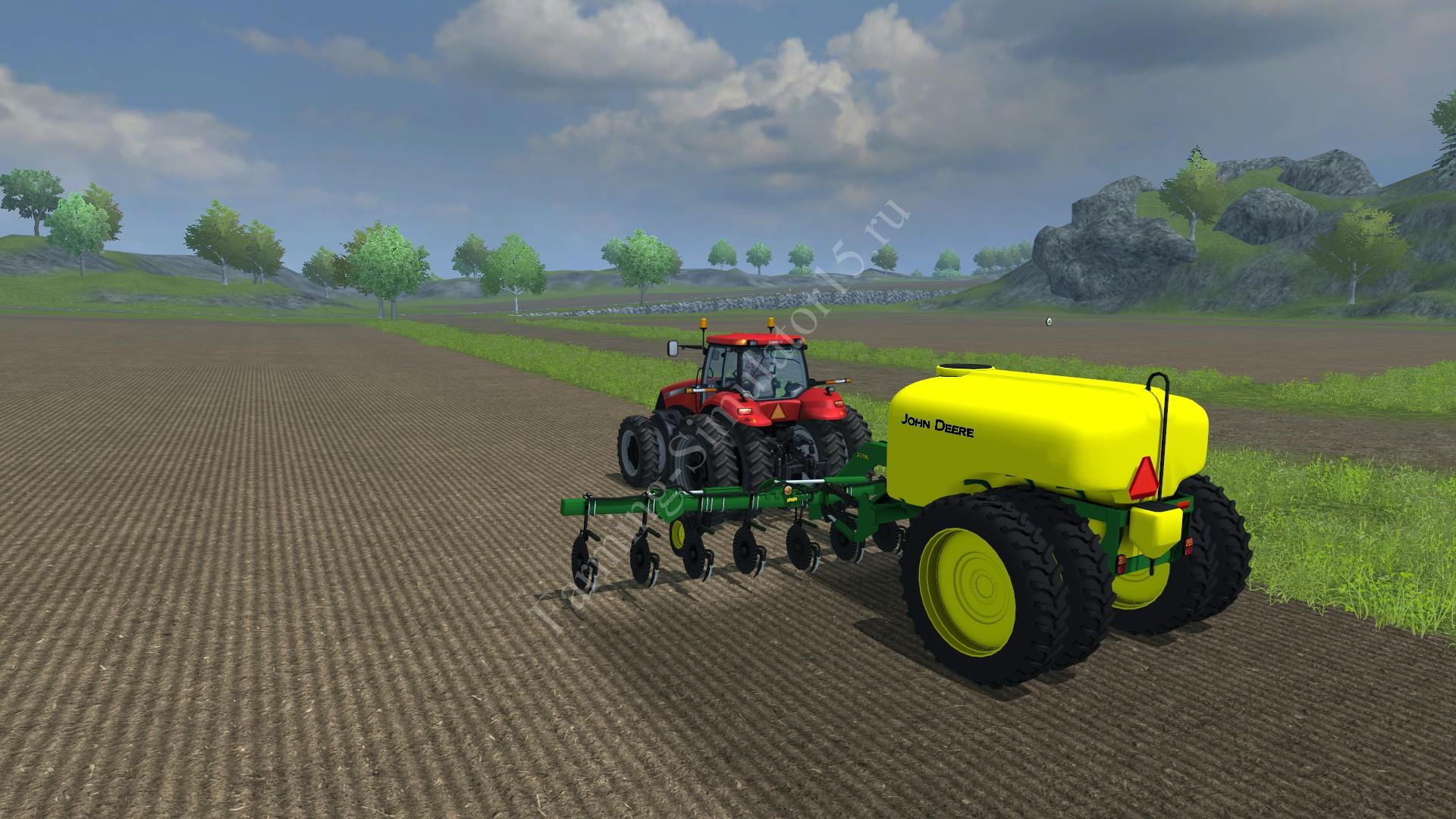 Мод опрыскивателя John Deere 2510L v 1.0 Beta Farming Simulator 2013, Farming Simulator 13