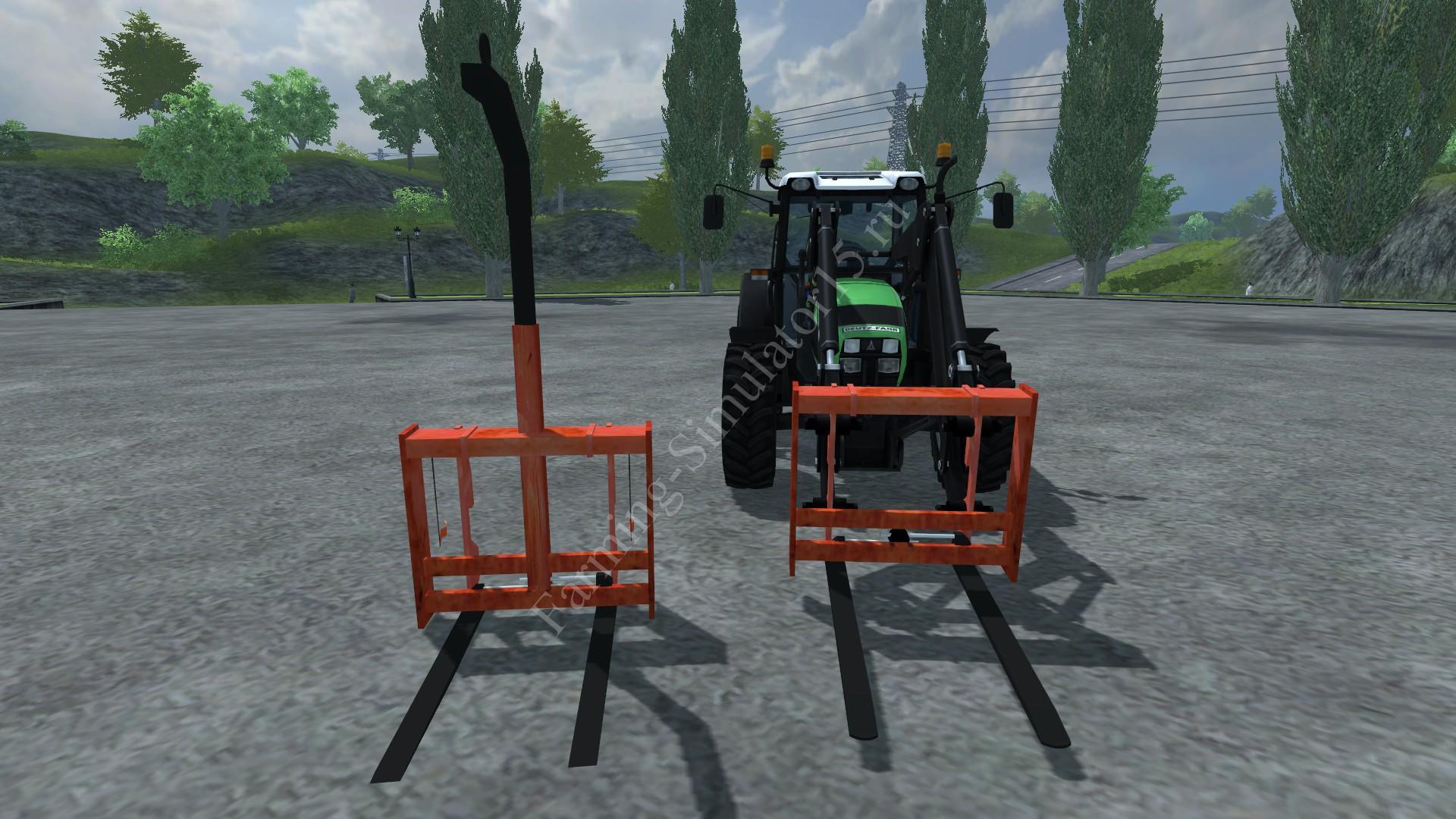 Мод Pallet fork Pack v 1.0 Farming Simulator 2013, Farming Simulator 13