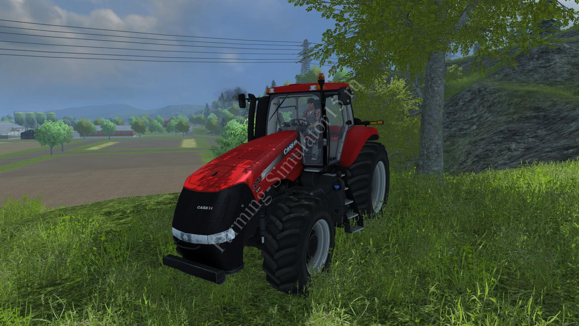 Мод трактора Case IH 370 v 1.0 Farming Simulator 2013, Farming Simulator 13