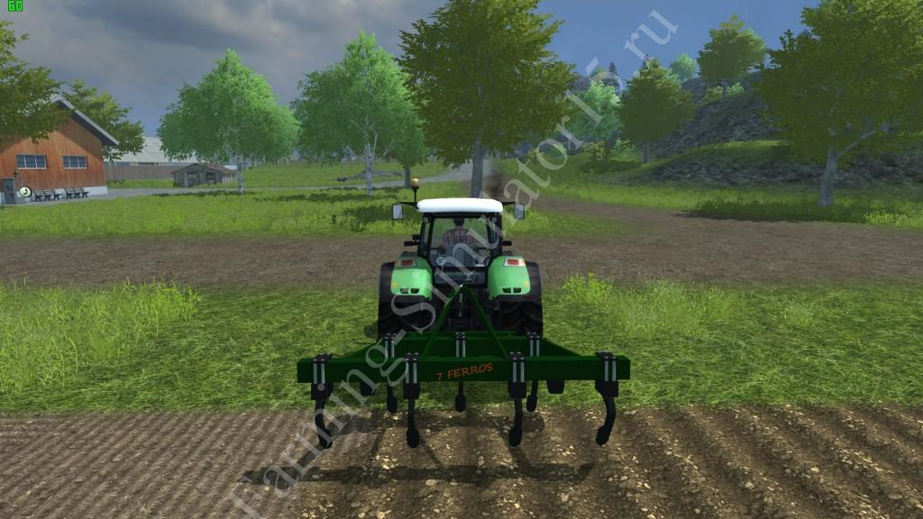 Видео мод плуга Stara Asa Laser H Farming Simulator 2013, Farming Simulator 13