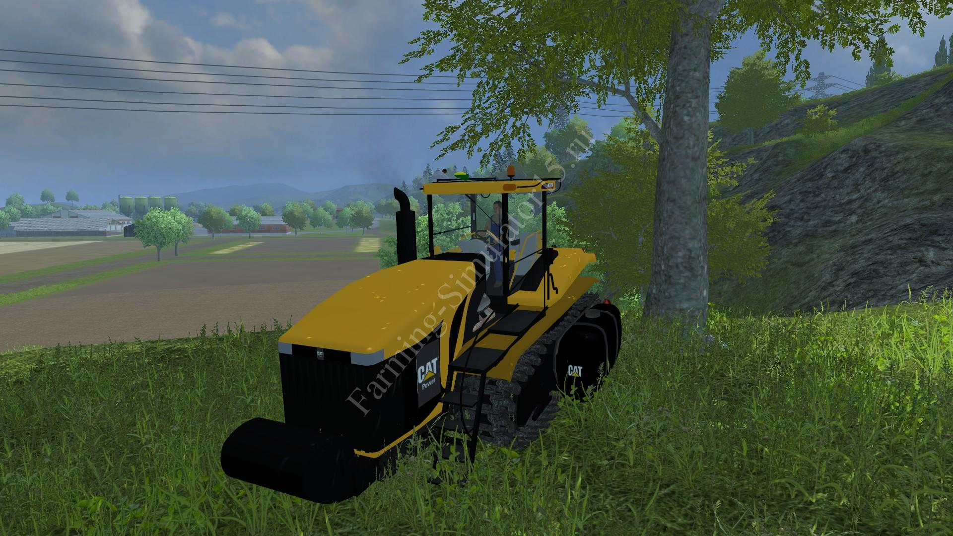 Мод трактора CAT challenger gibrid v 1.0 Farming Simulator 2013, Farming Simulator 13