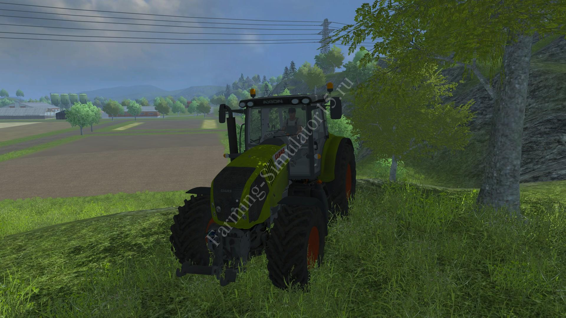 Мод трактора Claas Axion 850 v 2.1 Farming Simulator 2013, Farming Simulator 13