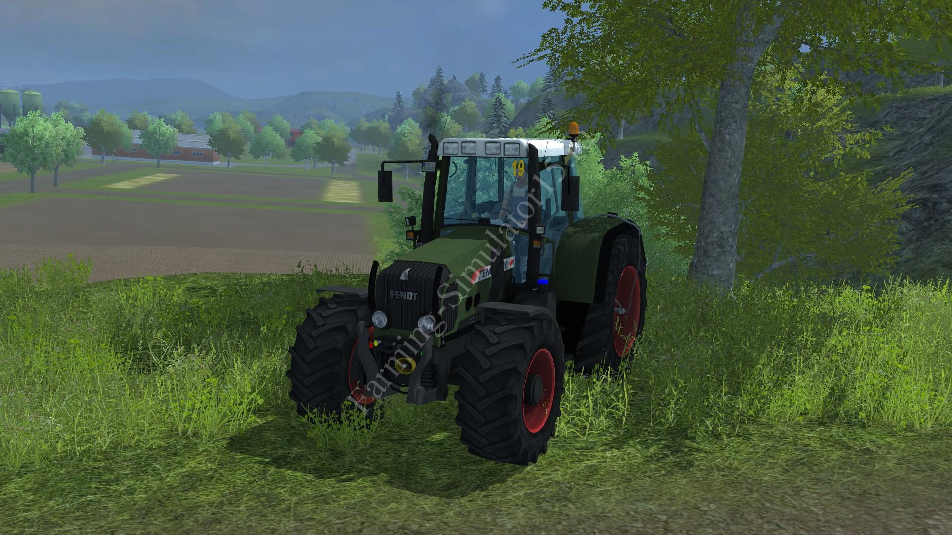 Мод трактора Fendt 820 Vario v 1.2 Farming Simulator 2013, Farming Simulator 13
