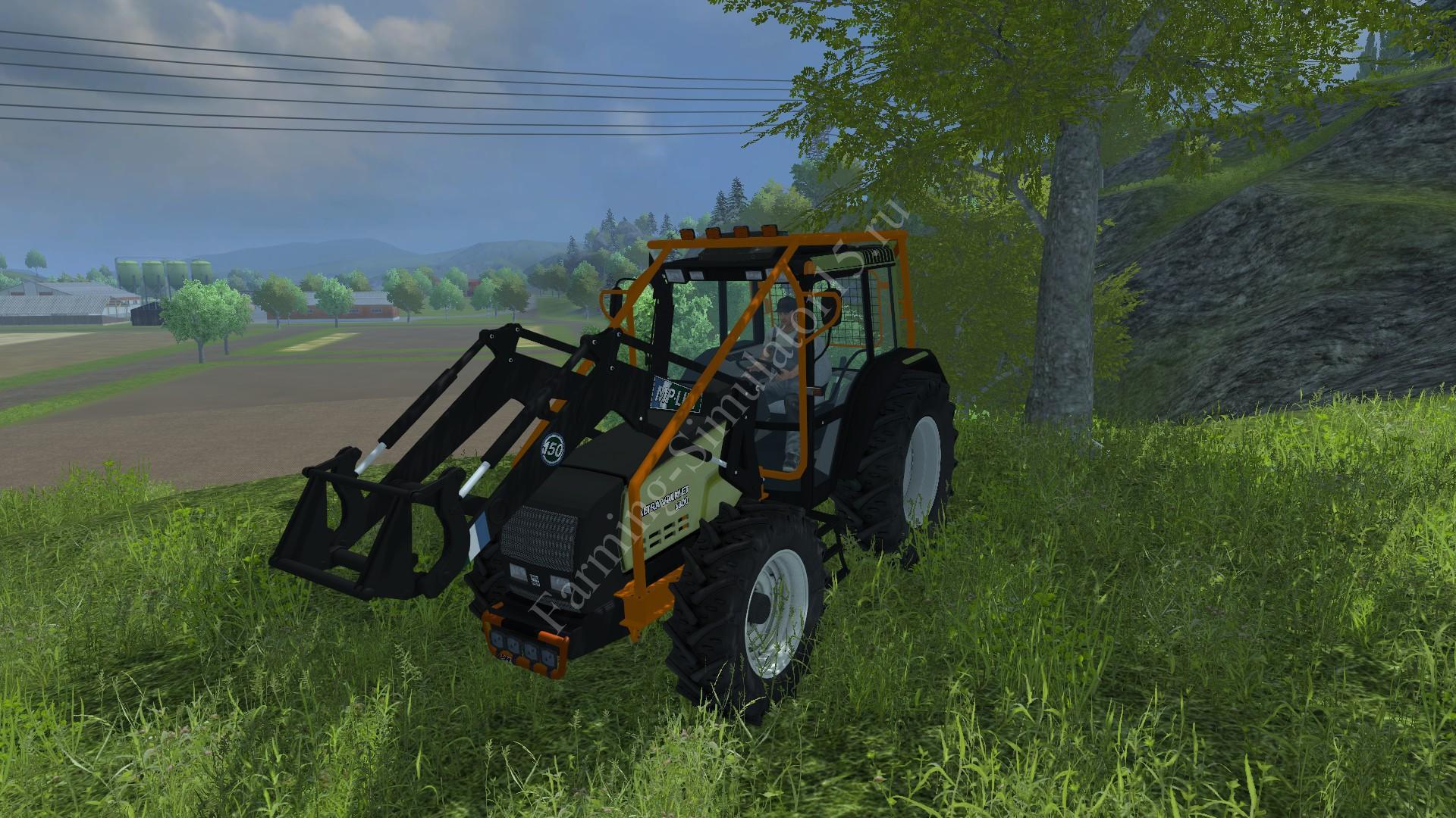 Мод трактора Valtra 6800 FL Forestry v 1.0 Farming Simulator 2013, Farming Simulator 13
