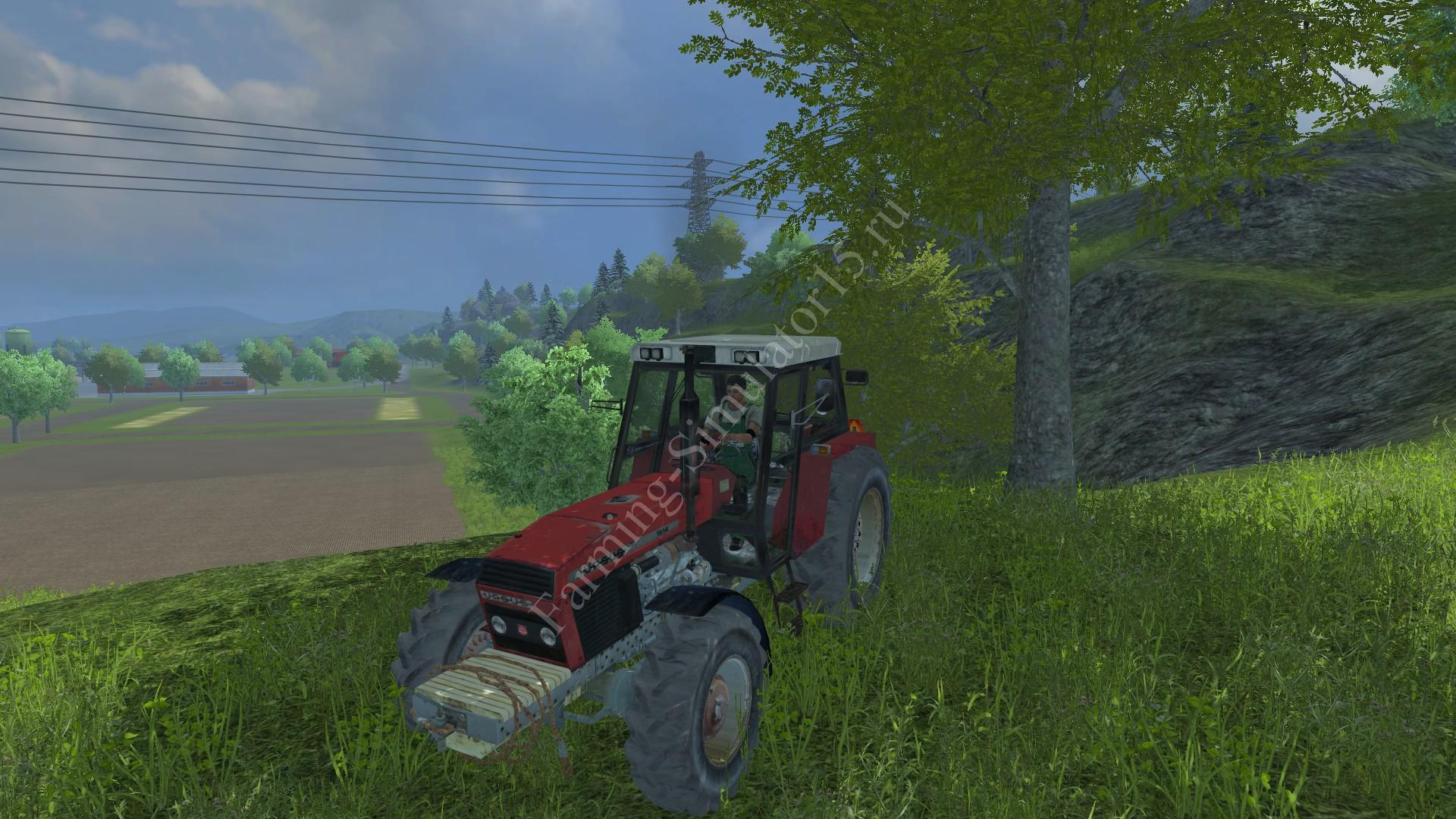Мод трактора Ursus 1614 TURBO v 1.0 Farming Simulator 2013, Farming Simulator 13