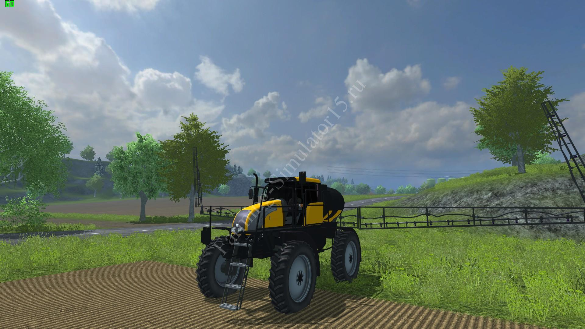 Видео мод опрыскиватель Valtra BS 3020H v 1.0 Farming Simulator 2013, Farming Simulator 13