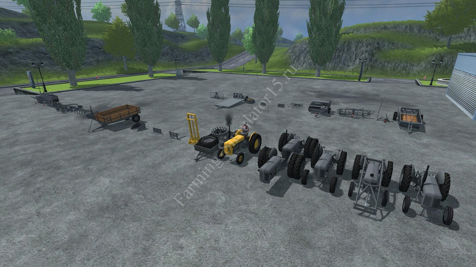 Мод трактора Ferguson System Pack v 1.0 Farming Simulator 2013, Farming Simulator 13