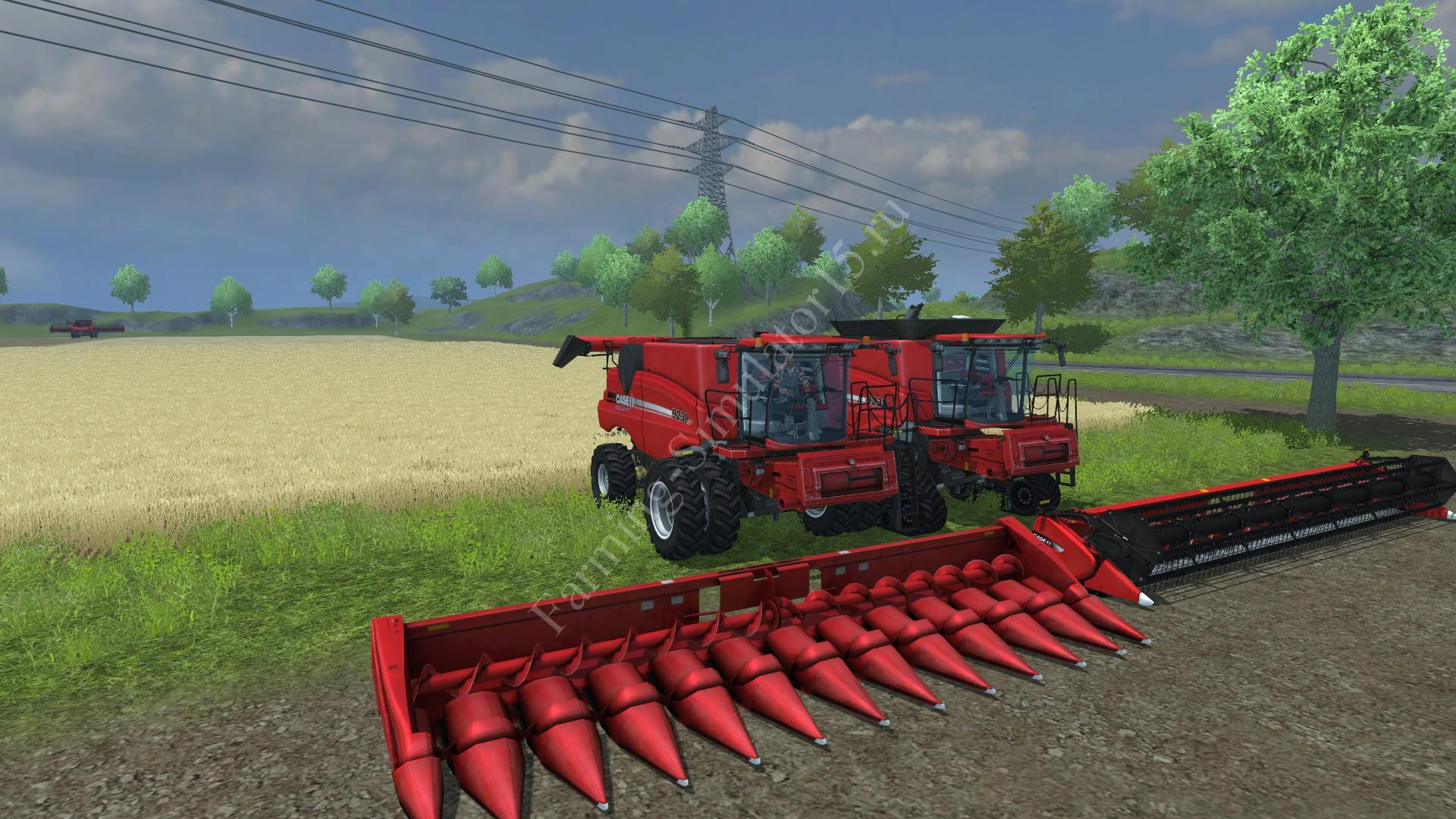 Мод комбайна Case IH Axial-Flow 9230 Pack v 1.0 Farming Simulator 2013, Farming Simulator 13