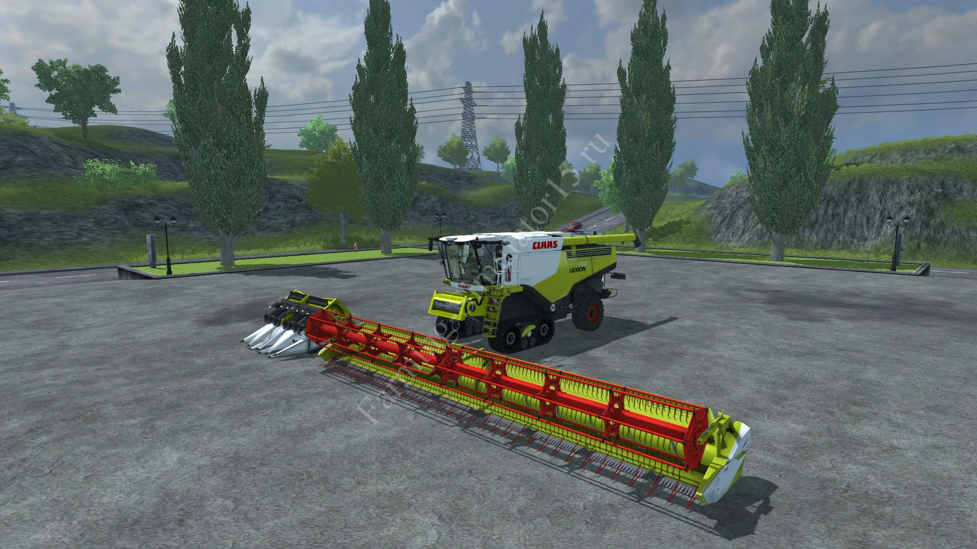 Мод комбайна Claas Lexion 780 v 0.1 Farming Simulator 2013, Farming Simulator 13